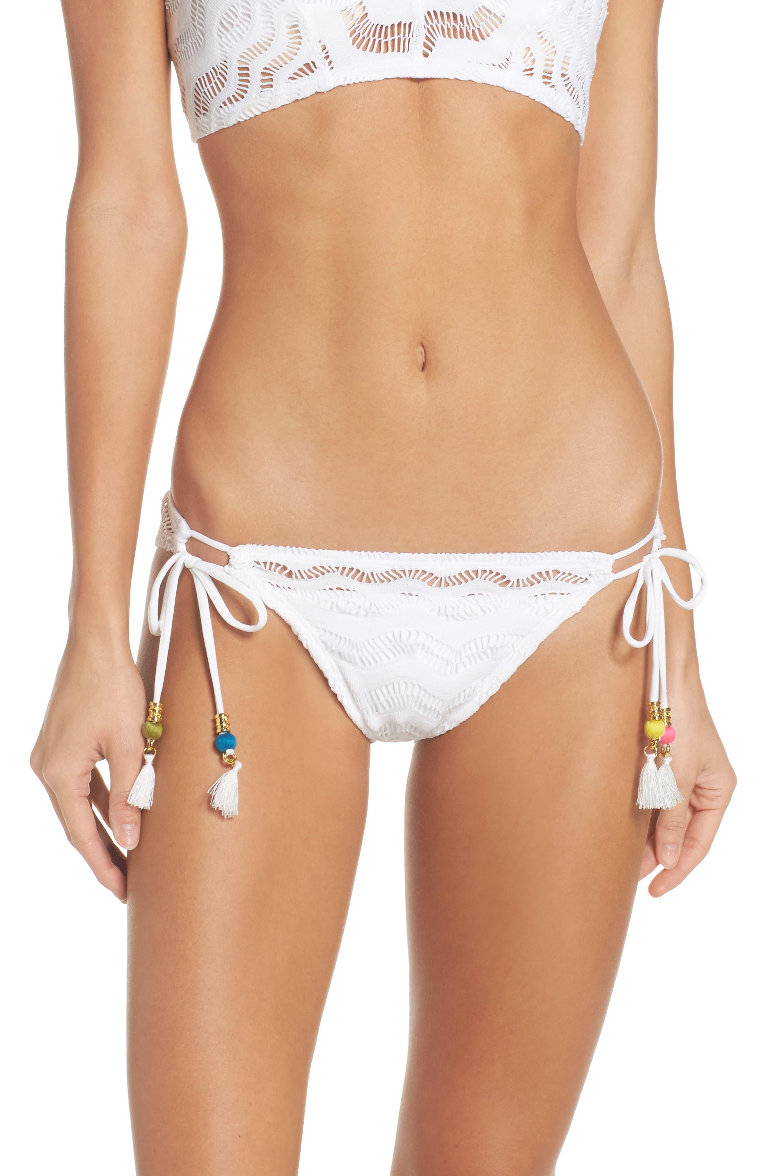 Robin Piccone Aria Side Tie Bikini Bottoms