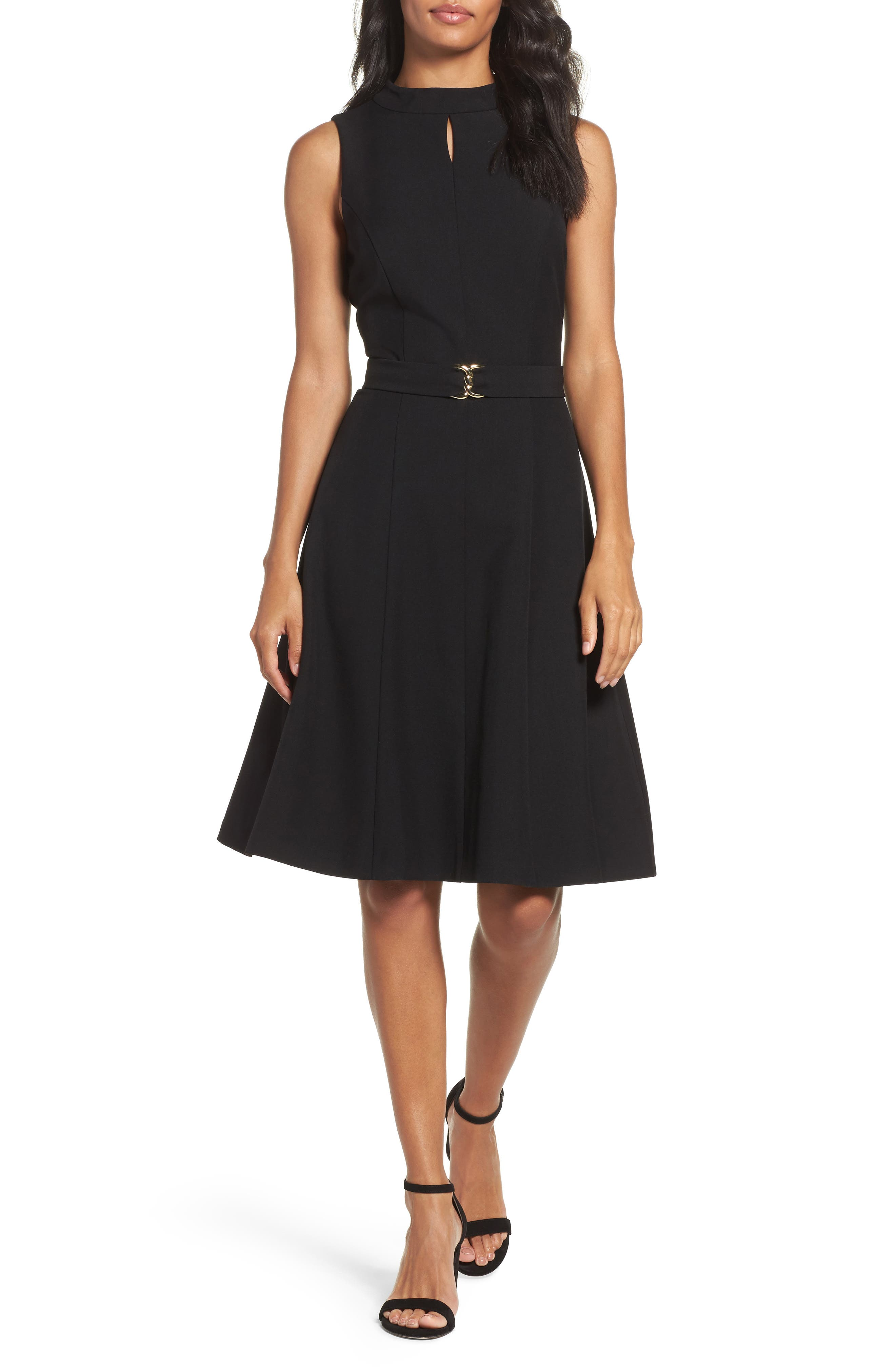 Ellen Tracy Fit & Flare Dress