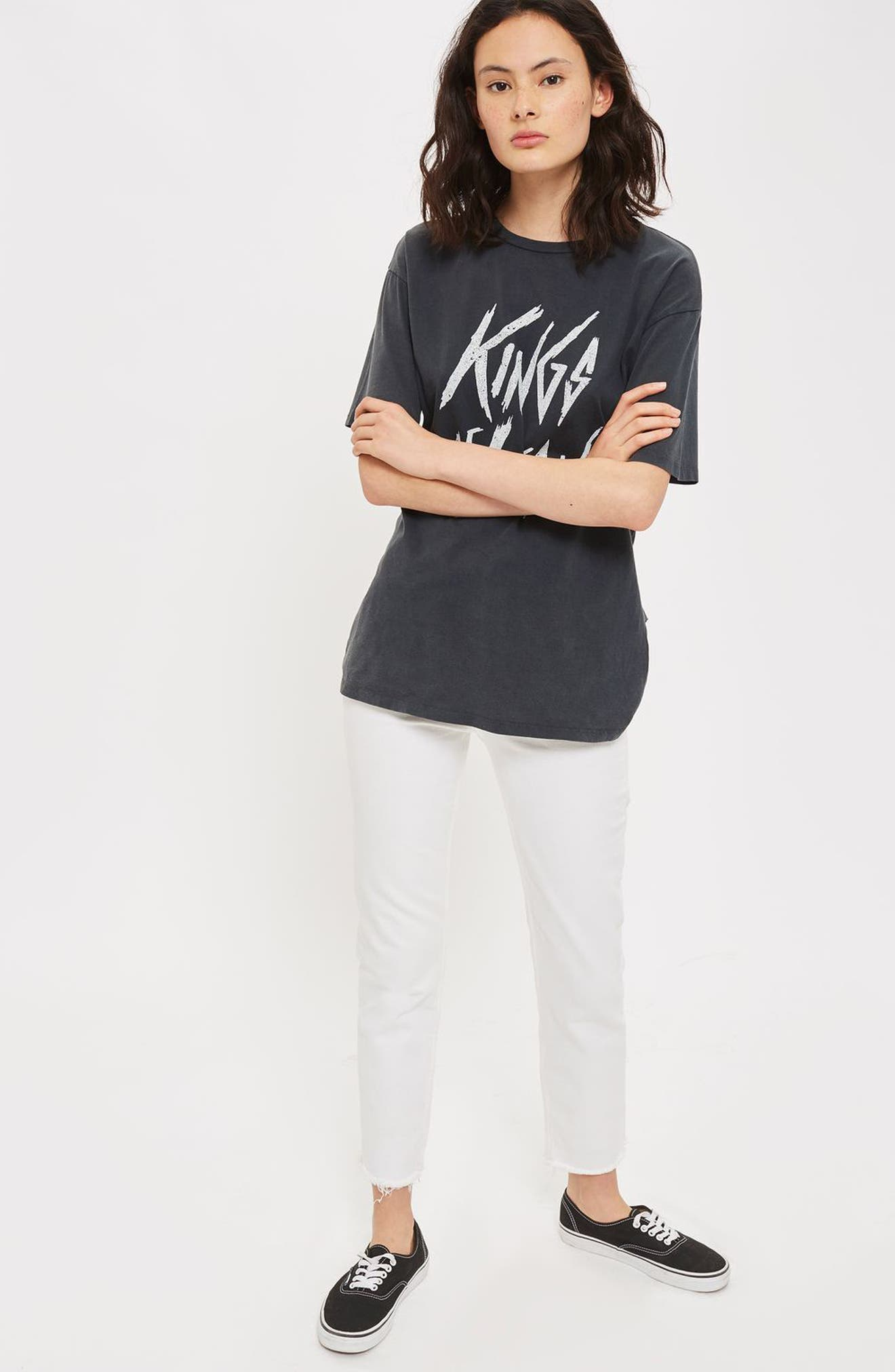 Alternate Image 2  - Topshop by And Finally Kings of Leon Back Slash Tee