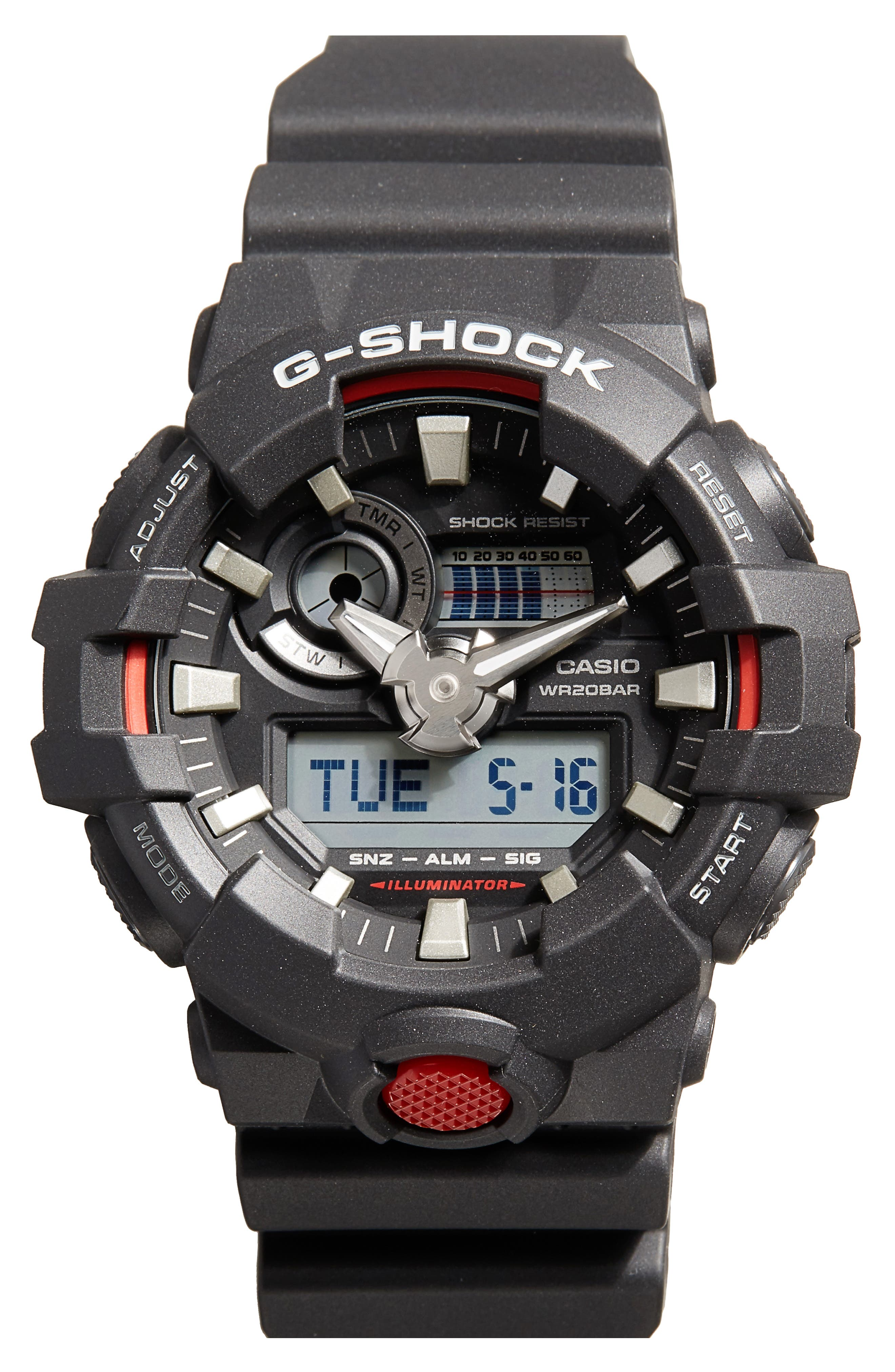 G-Shock GA700 Ana-Digi Watch Set, 55mm