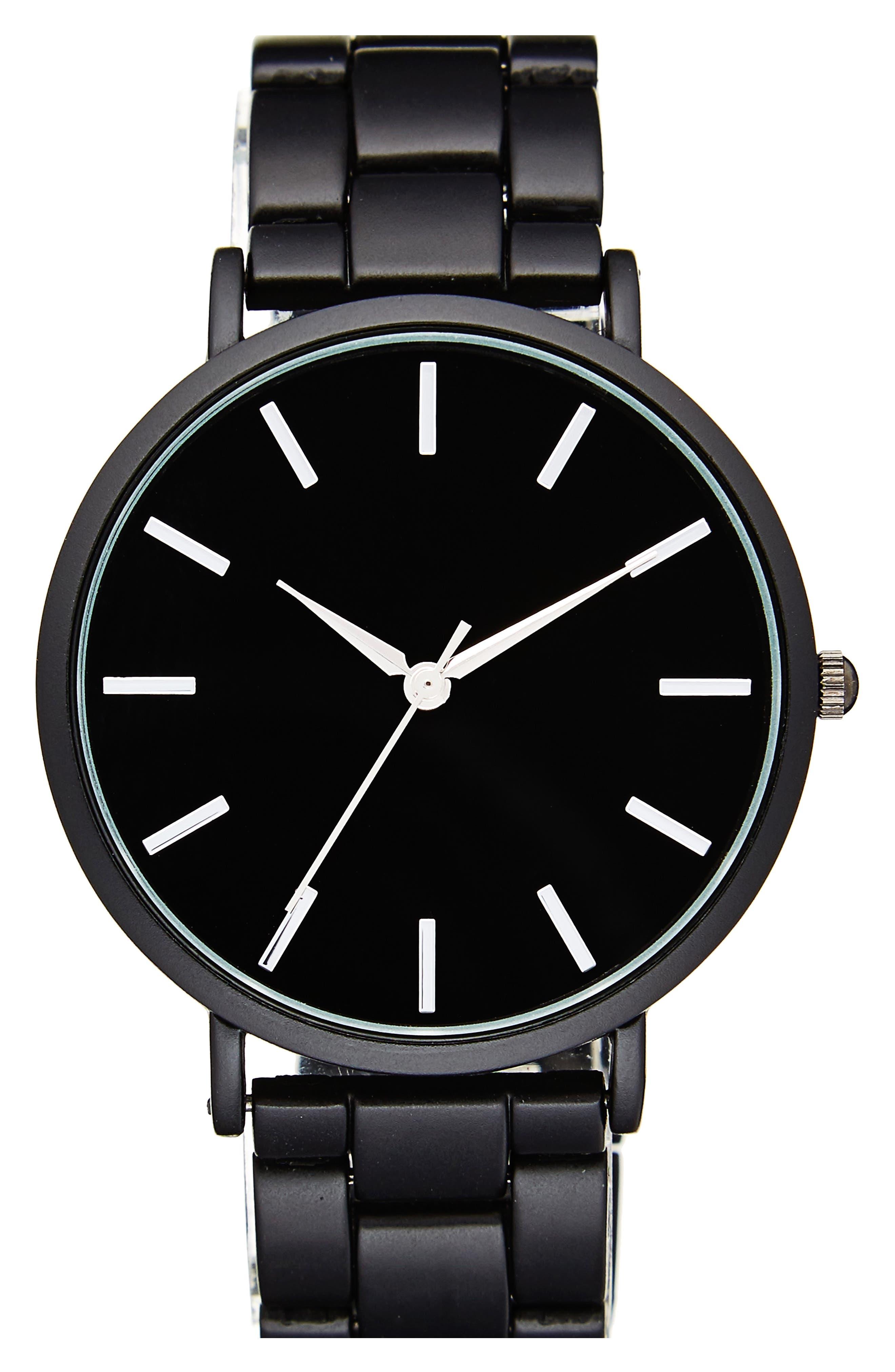 BP. Metal Link Watch, 40mm