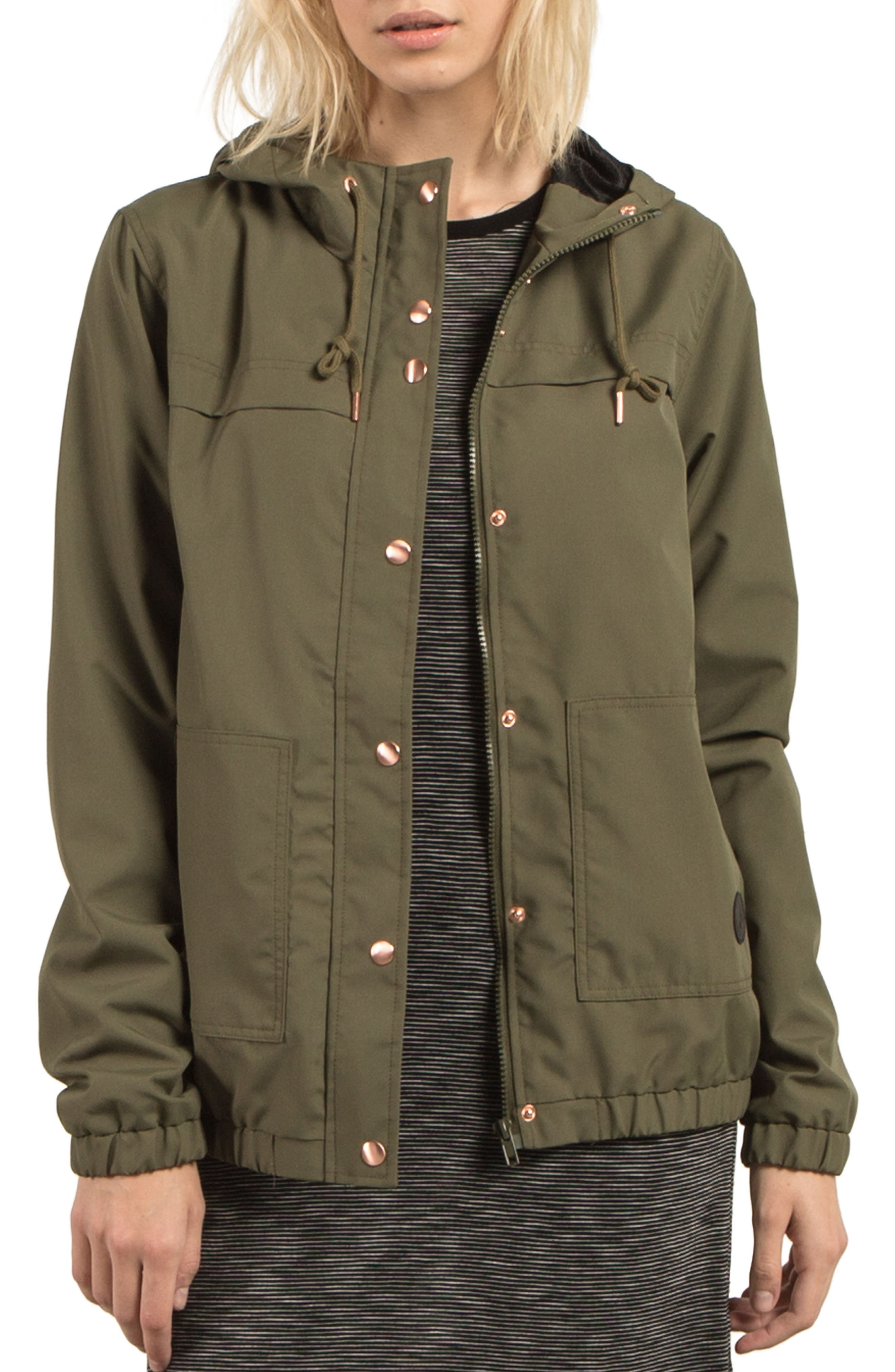 Volcom Enemy Stone Hooded Jacket