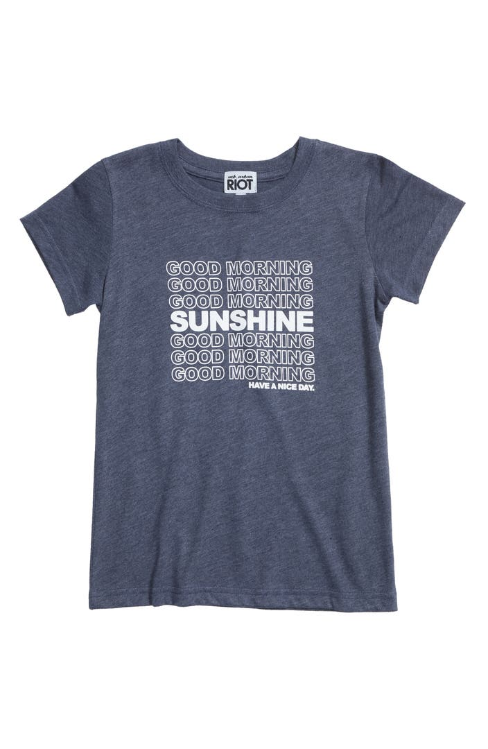 Good Morning Sunshine Tee : Sub urban riot good morning sunshine tee big girls