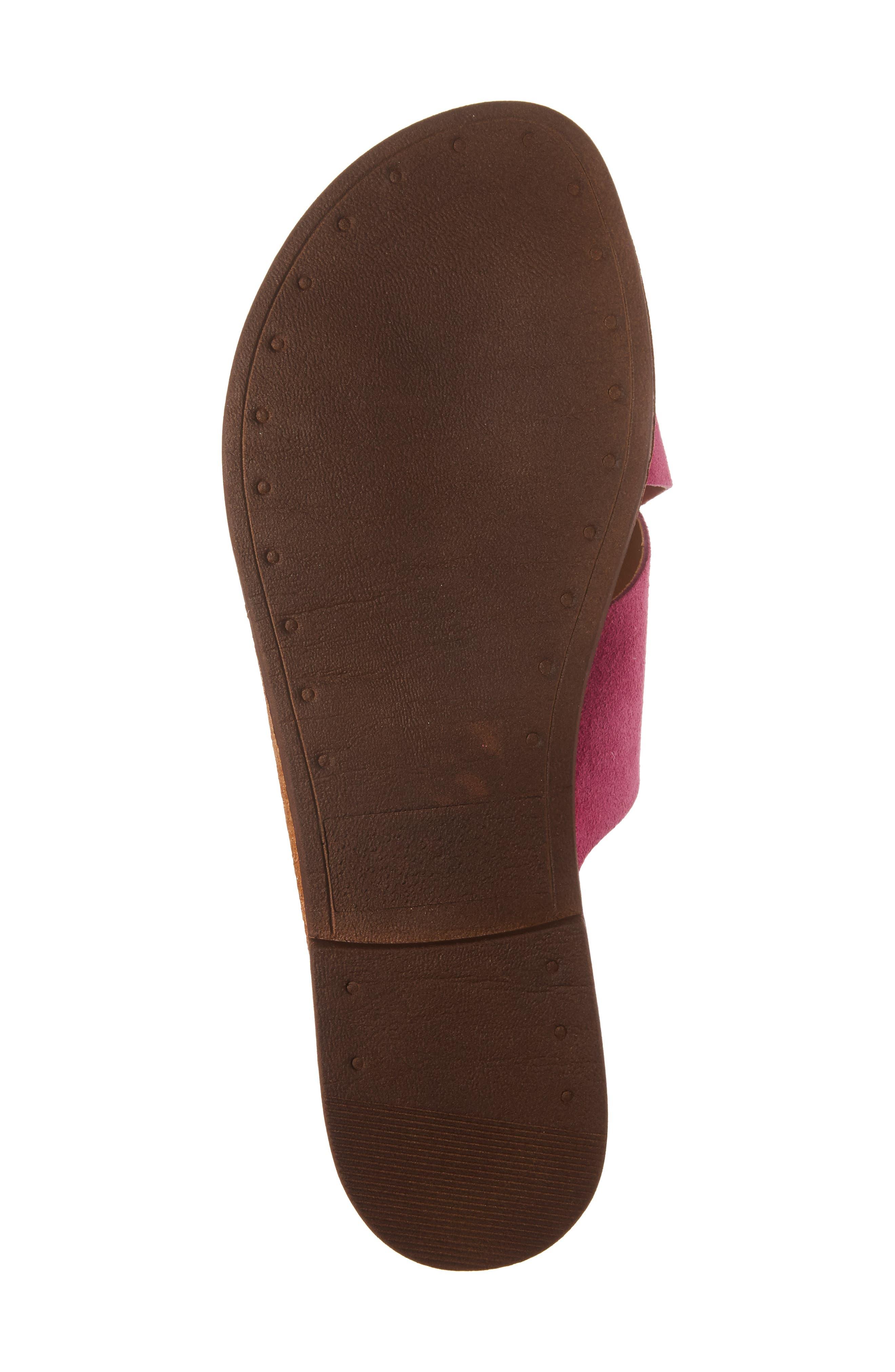 Alternate Image 6  - Topshop Hawaii Crisscross Sandal (Women)