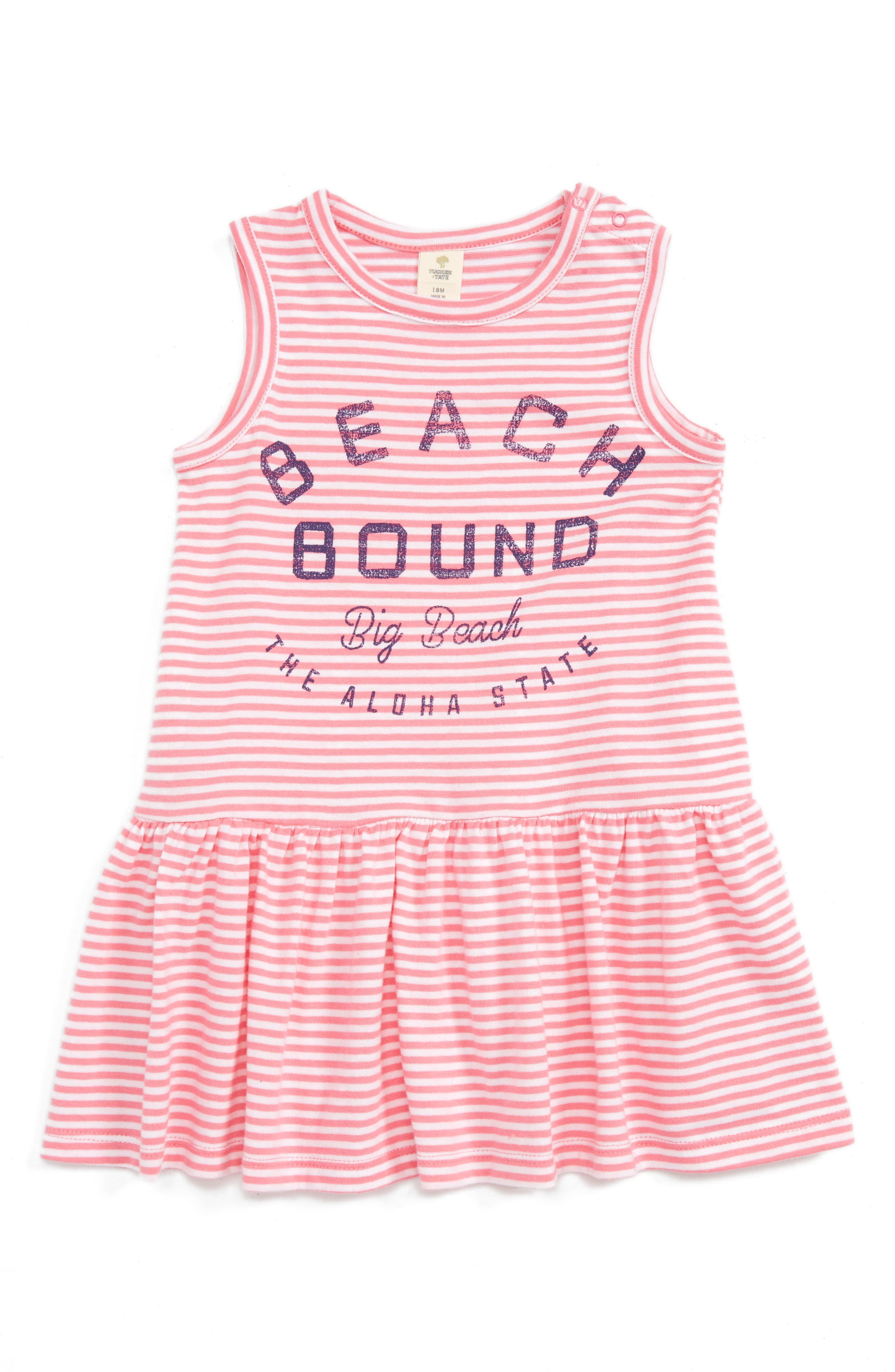 Tucker + Tate Stripe Tank Dress (Baby)