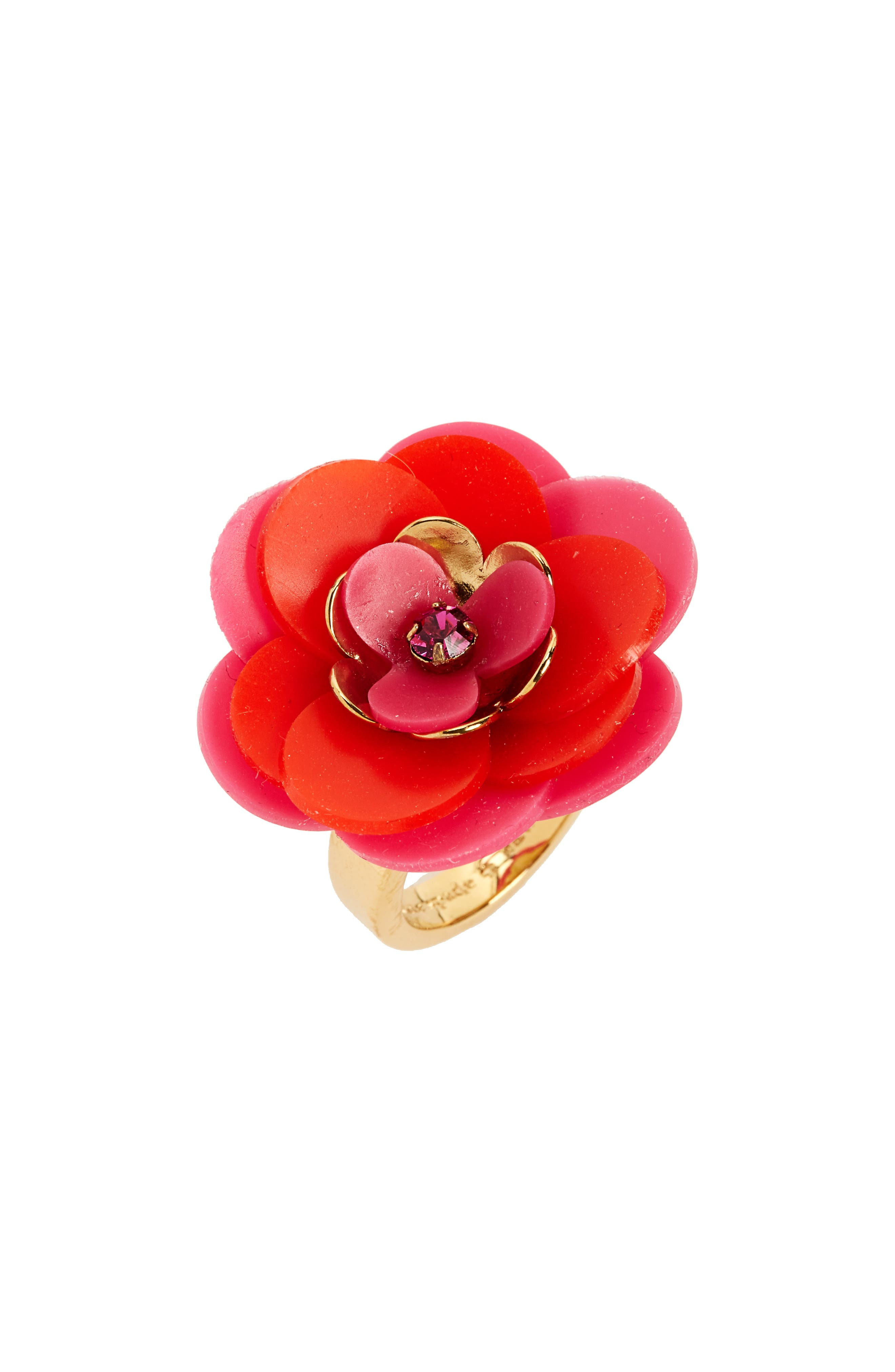 kate spade new york rosy posies ring
