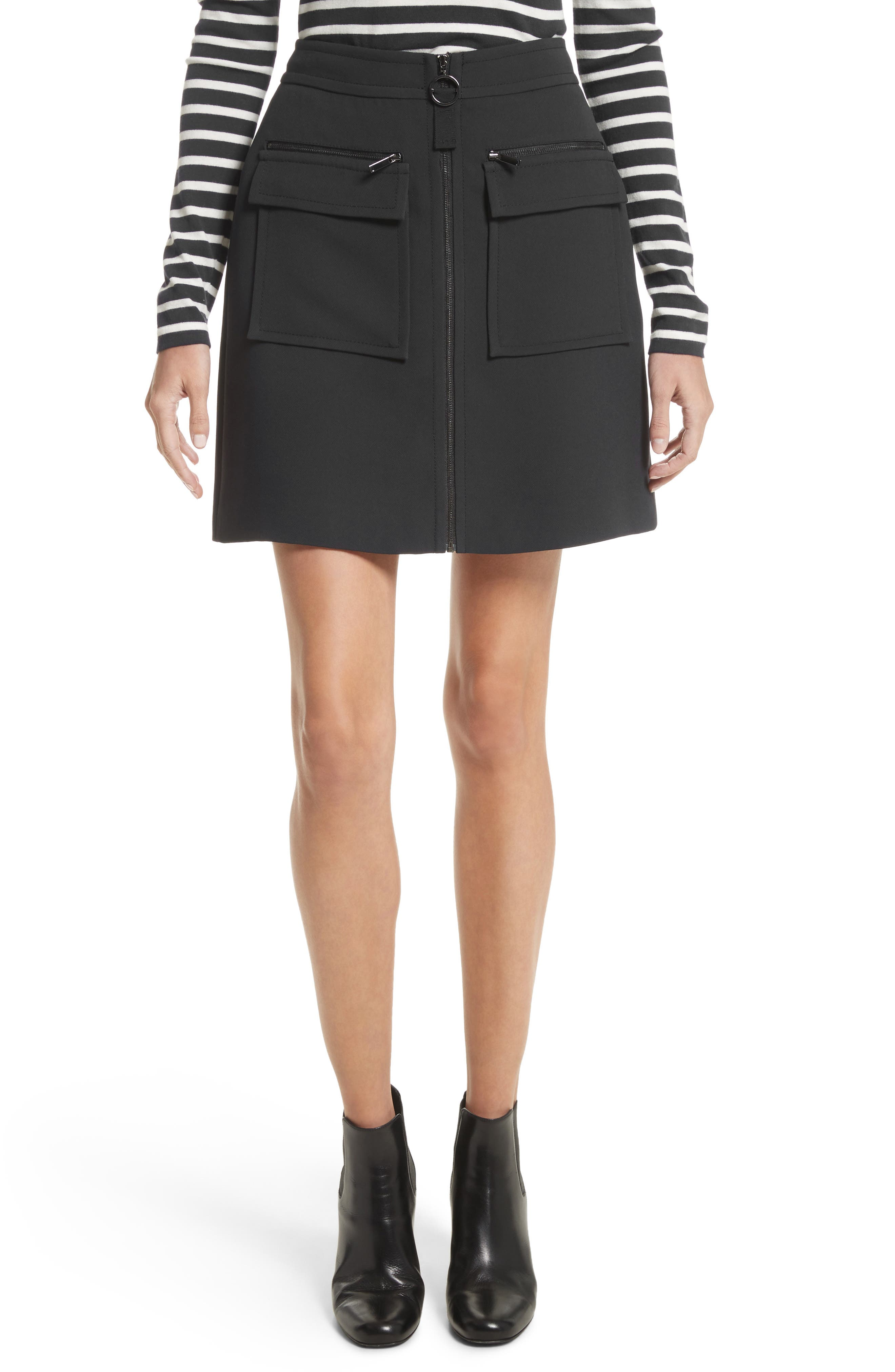 GREY Jason Wu Crepe Miniskirt