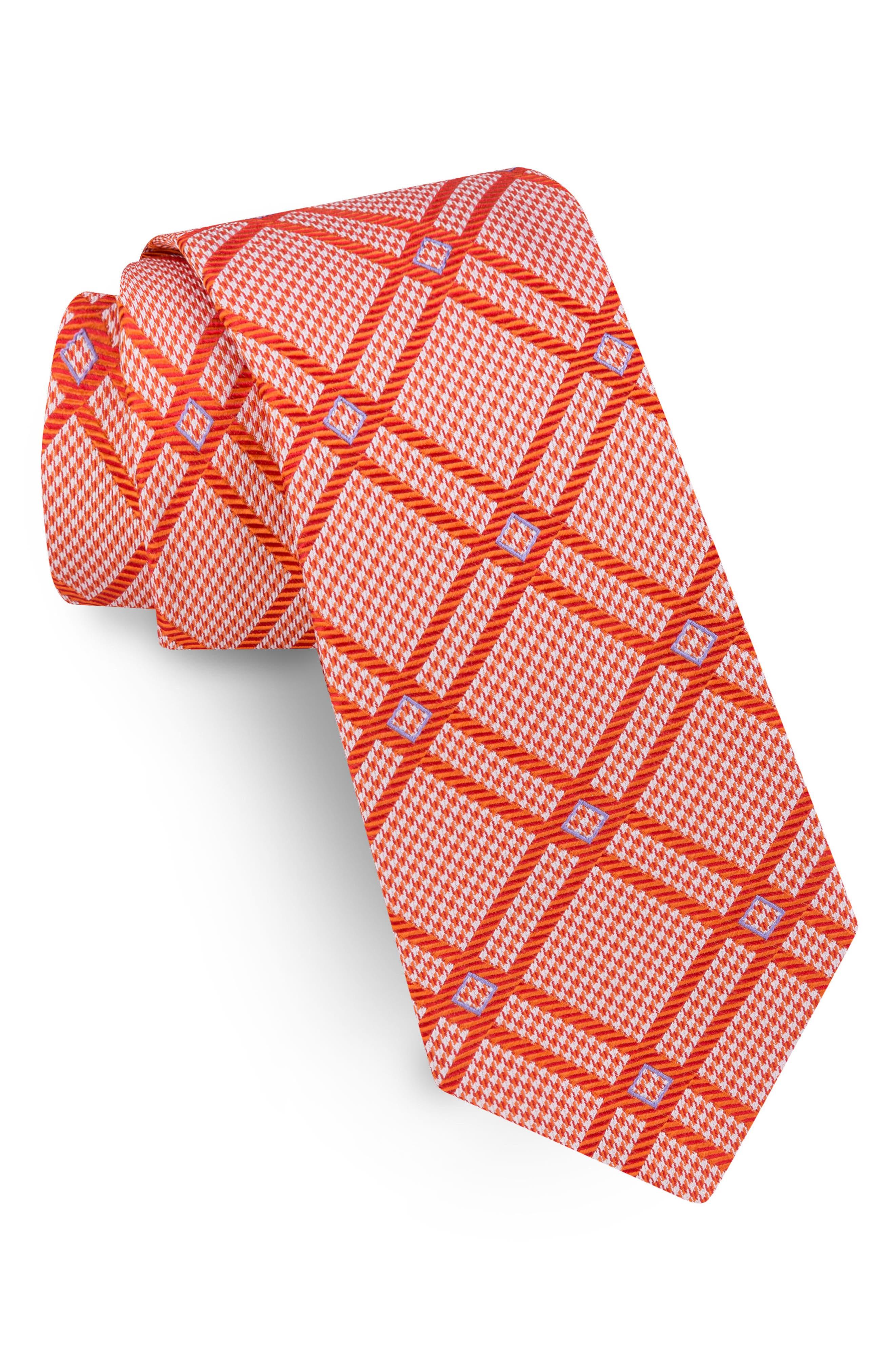 Ted Baker London Refine Check Silk Tie