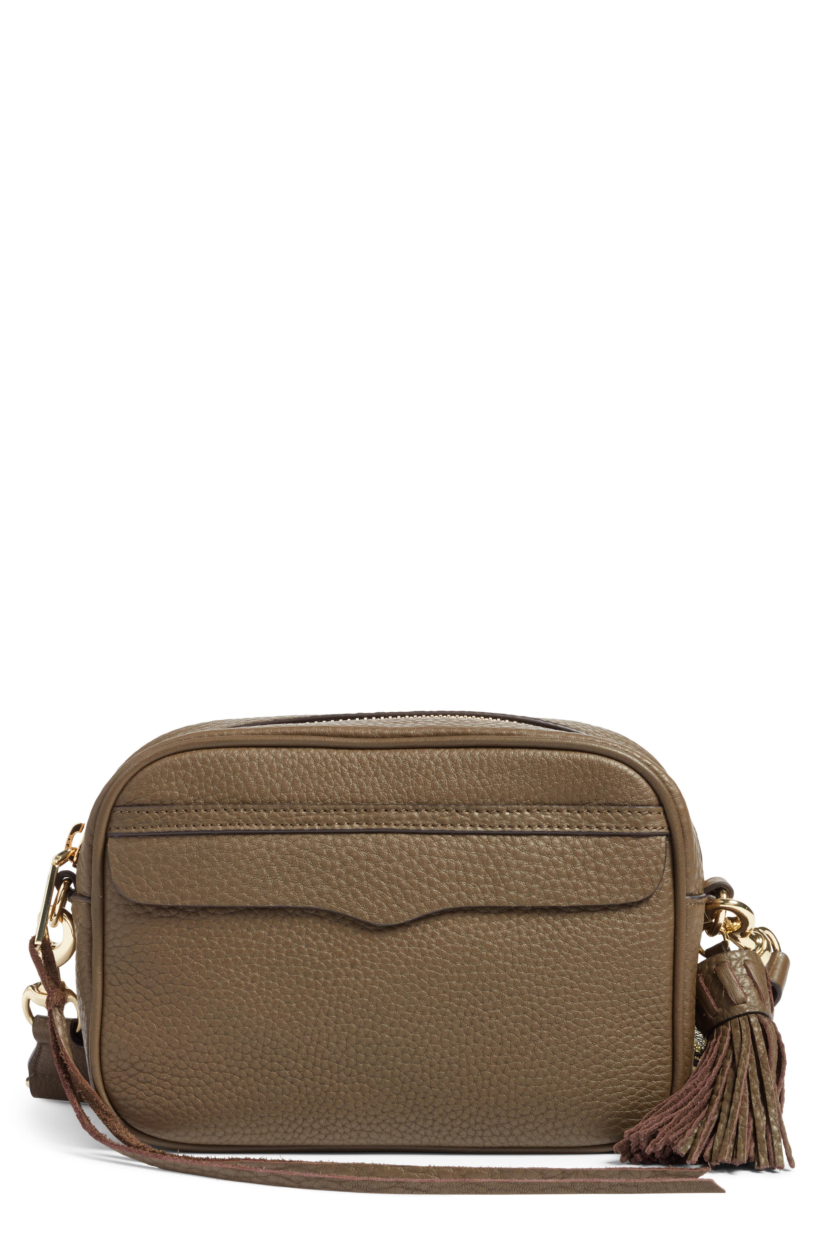 Rebecca Minkoff Leather Camera Bag with Guitar Strap (Nordstrom Exclusive)