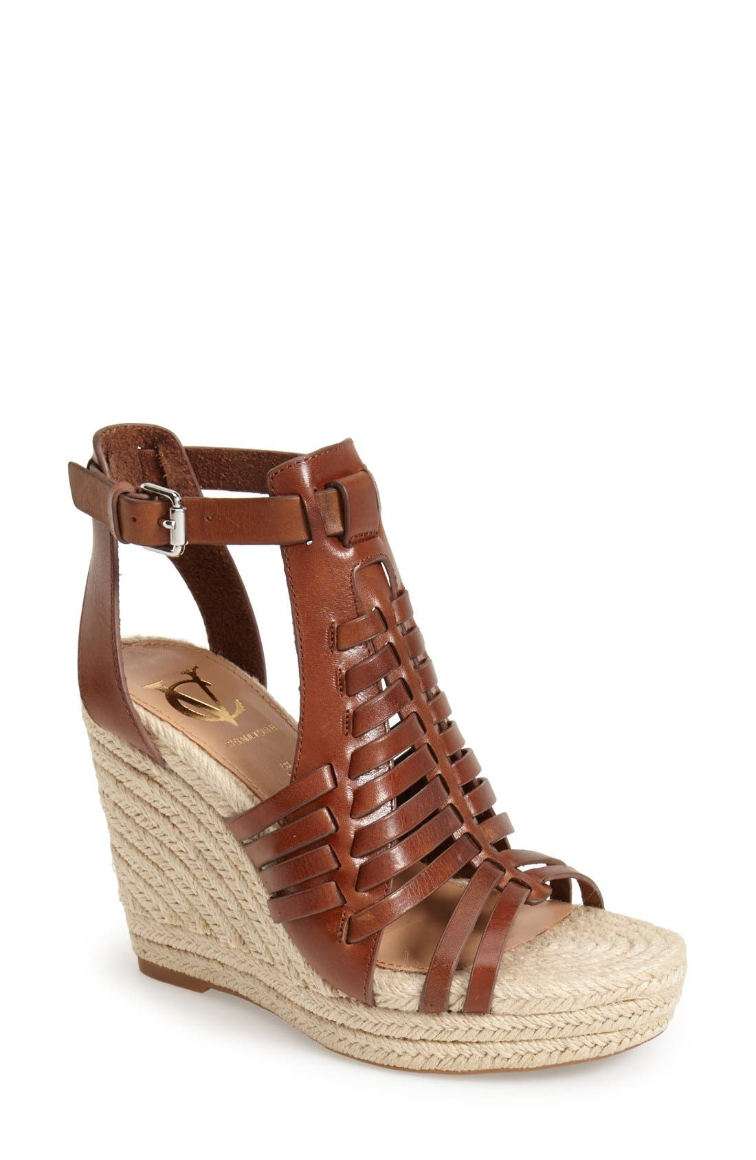 Alternate Image 1 Selected - VC Signature 'Danessa' Wedge Sandal (Women)