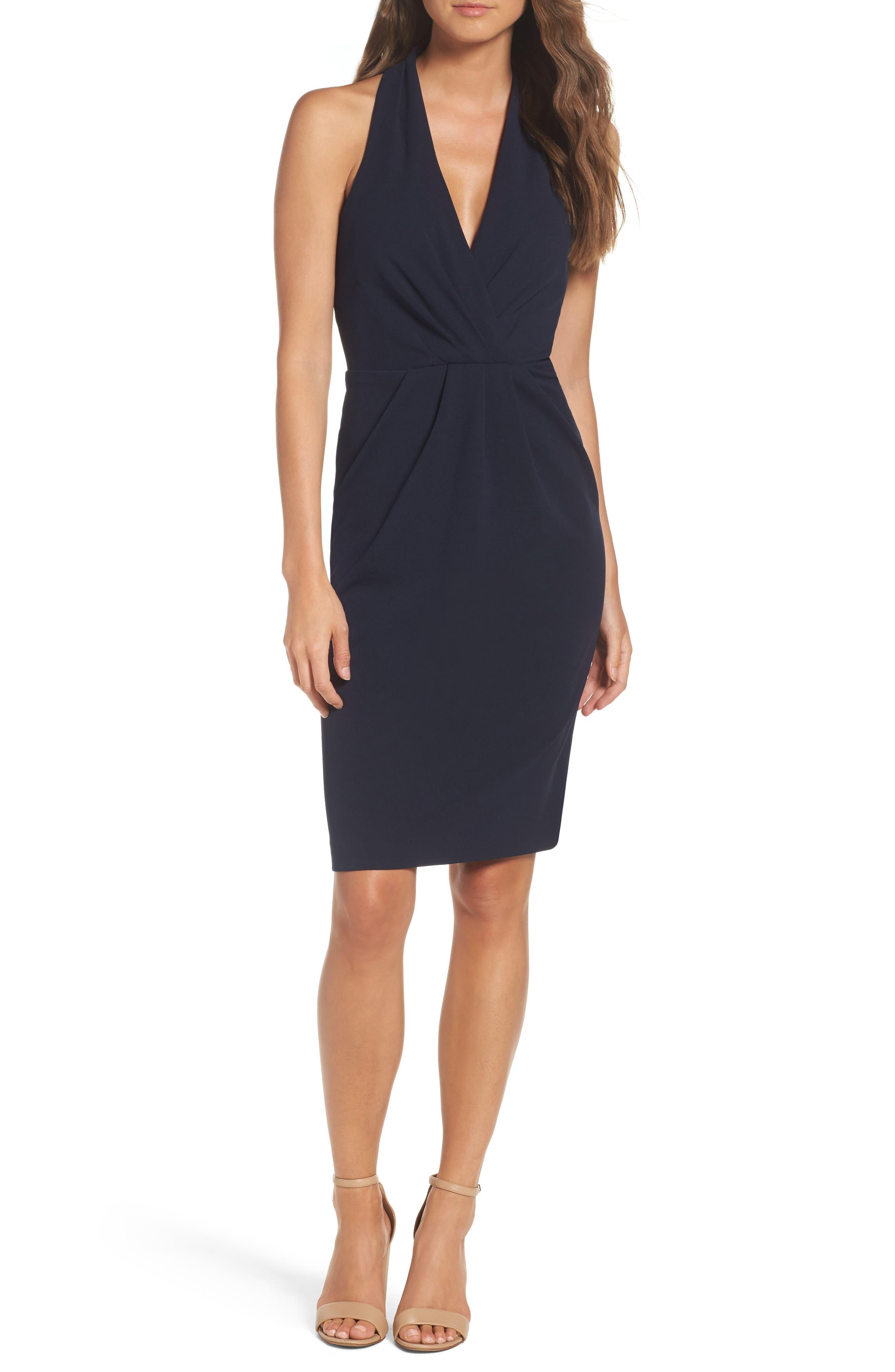 Betsey Johnson Scuba Sheath Dress