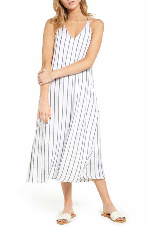 Mimi Chica Stripe Slipdress