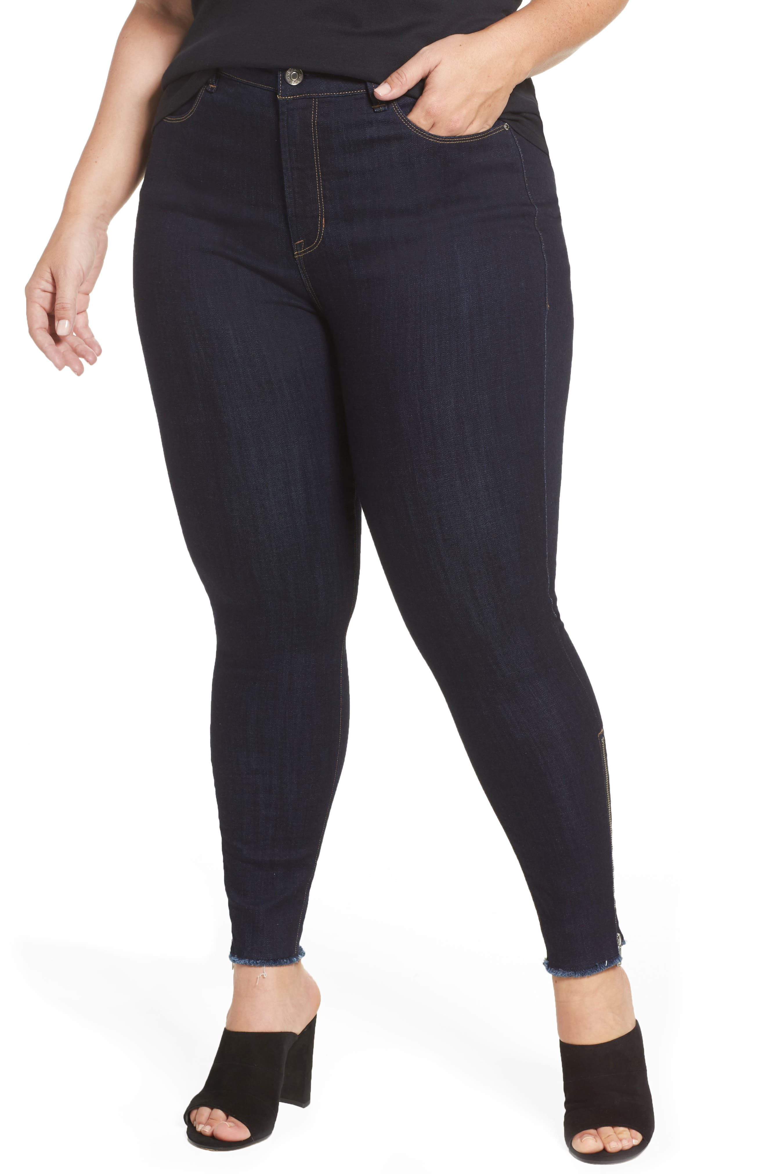 REBEL WILSON X ANGELS The Icon High Rise Super Skinny Jeans (Plus Size)