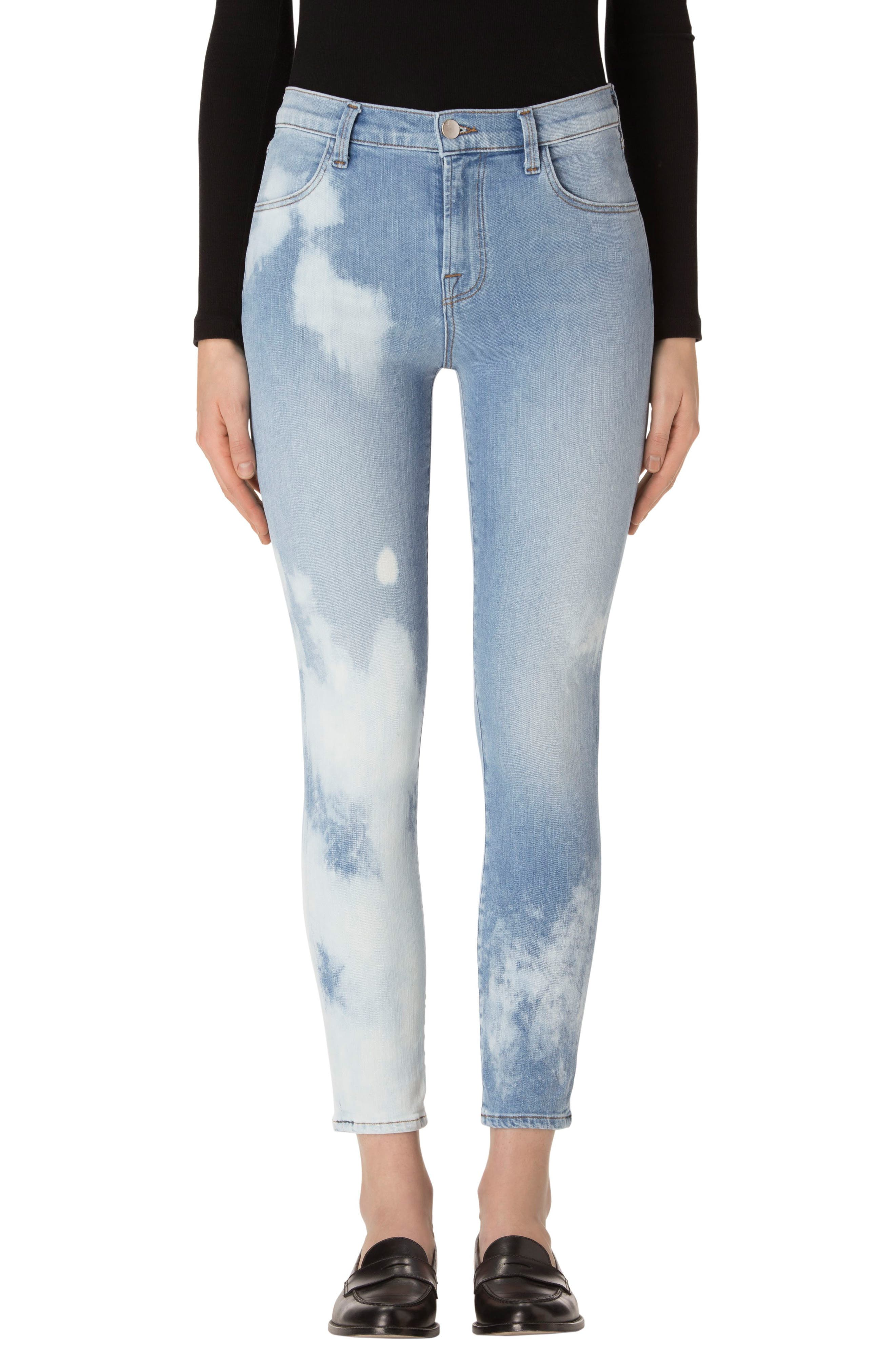 J Brand Alana High Waist Crop Skinny Jeans (Connection)
