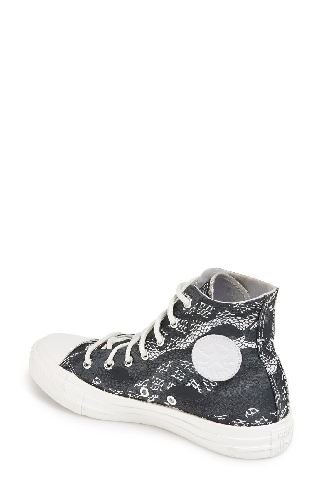Alternate Image 2  - Converse Chuck Taylor® 'Reptile Print' High Top Sneaker (Women)