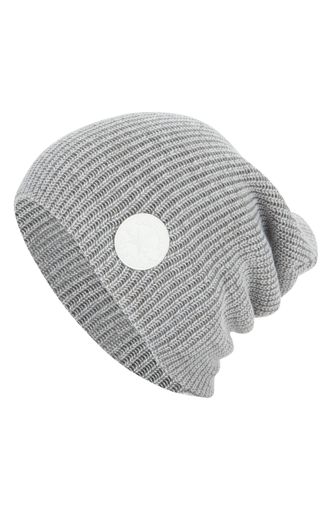 Alternate Image 1 Selected - Converse Slouchy Rib Knit Beanie