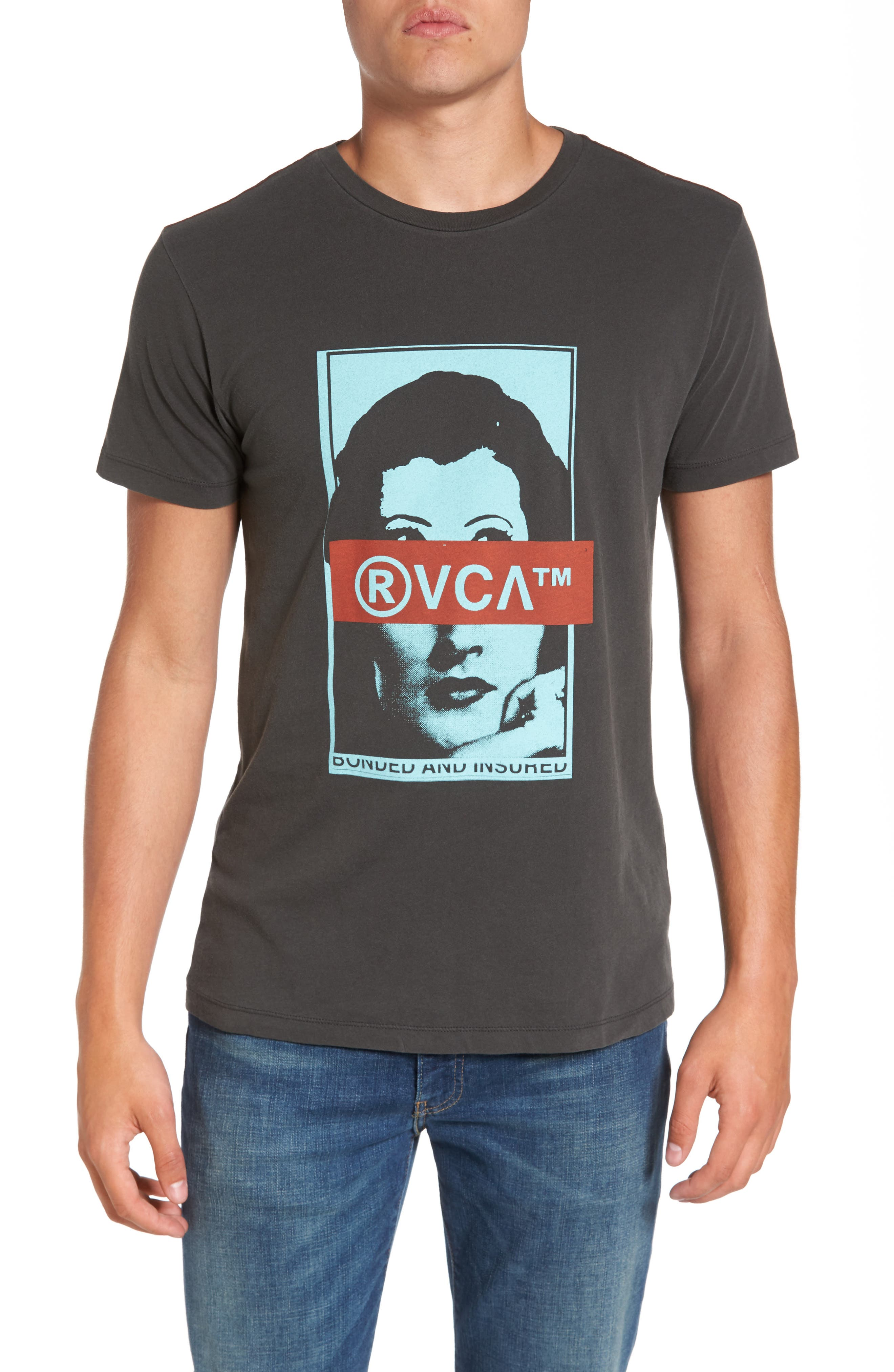 RVCA Split Frames Graphic T-Shirt