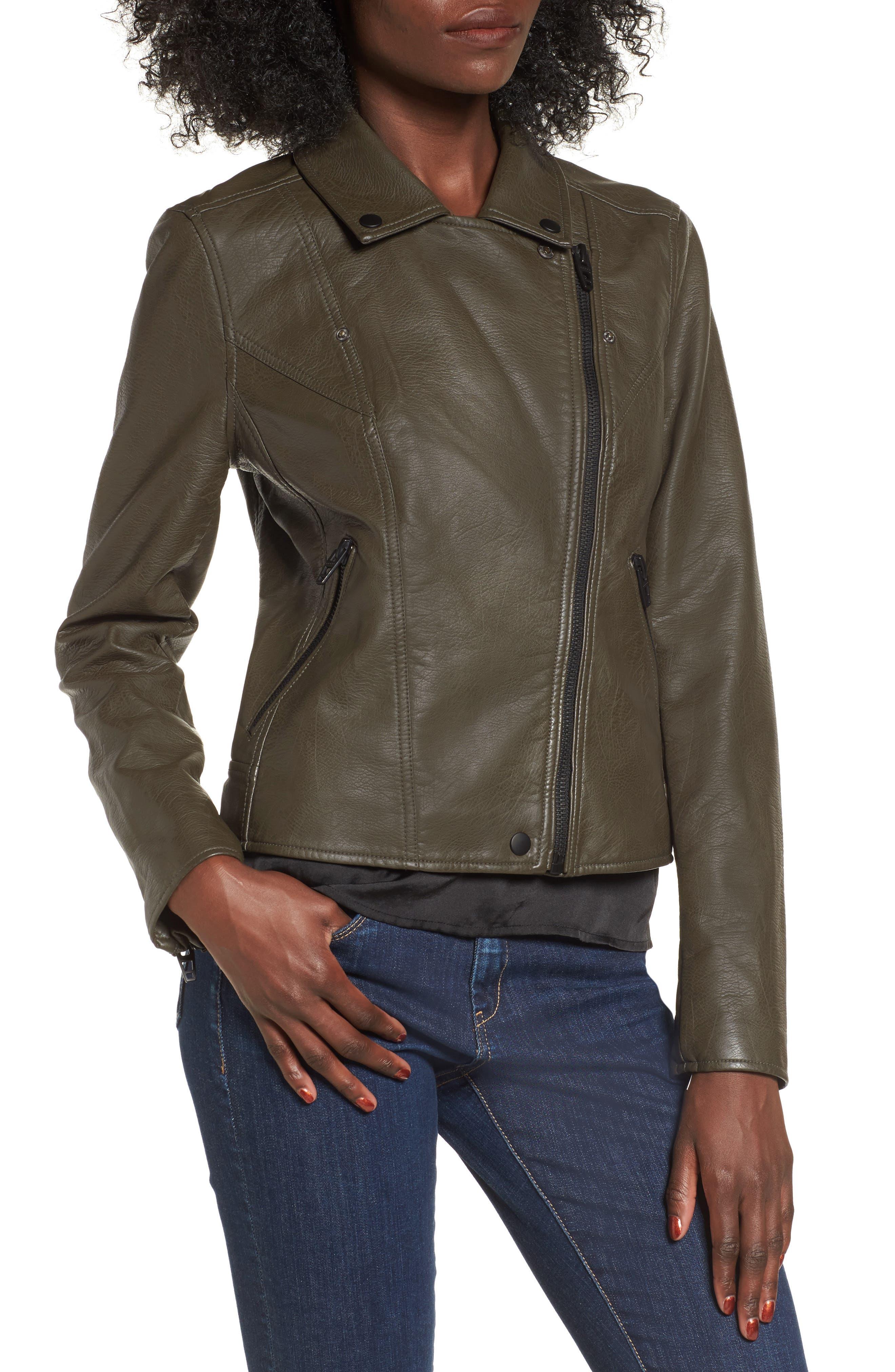 Alternate Image 4  - BLANKNYC Life Changer Moto Jacket