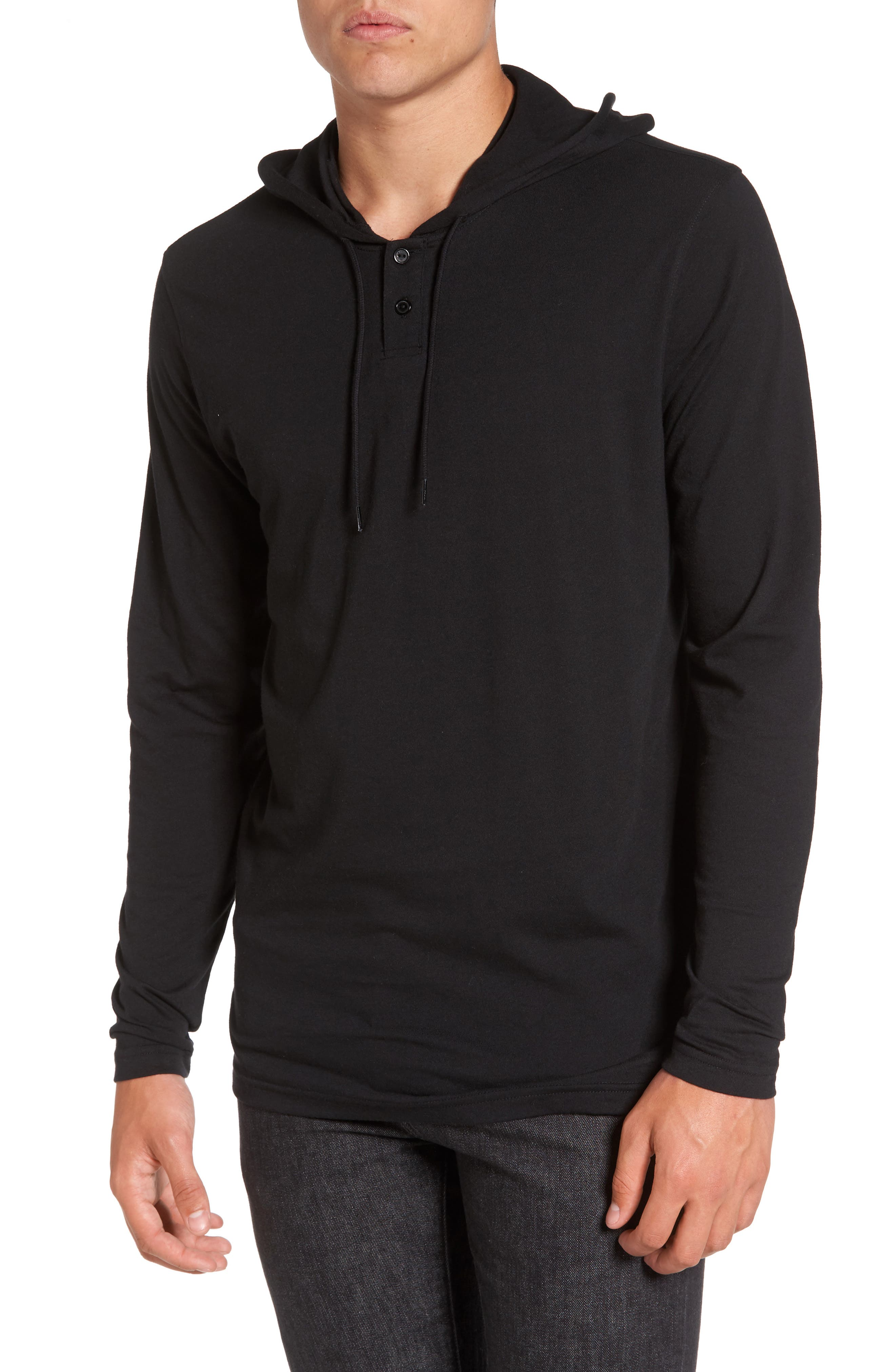 RVCA Pick Up Lightweight Henley Hoodie