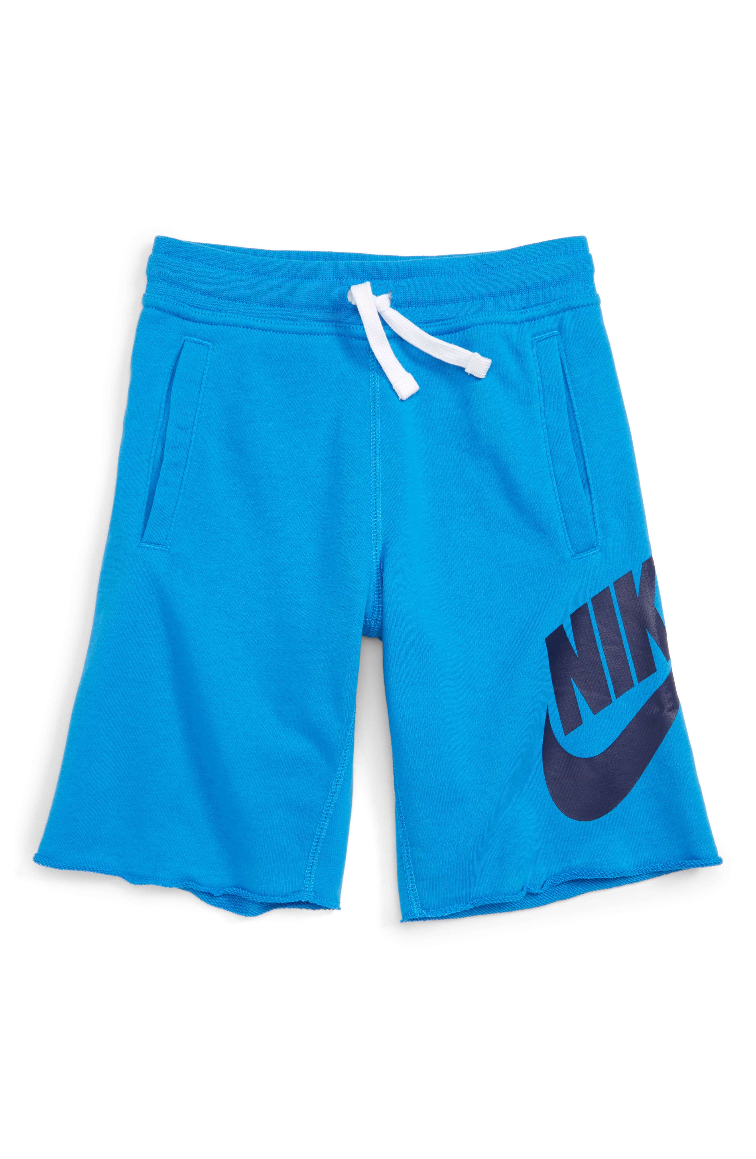 Nike 'Alumni' French Terry Knit Shorts (Little Boys & Big Boys)