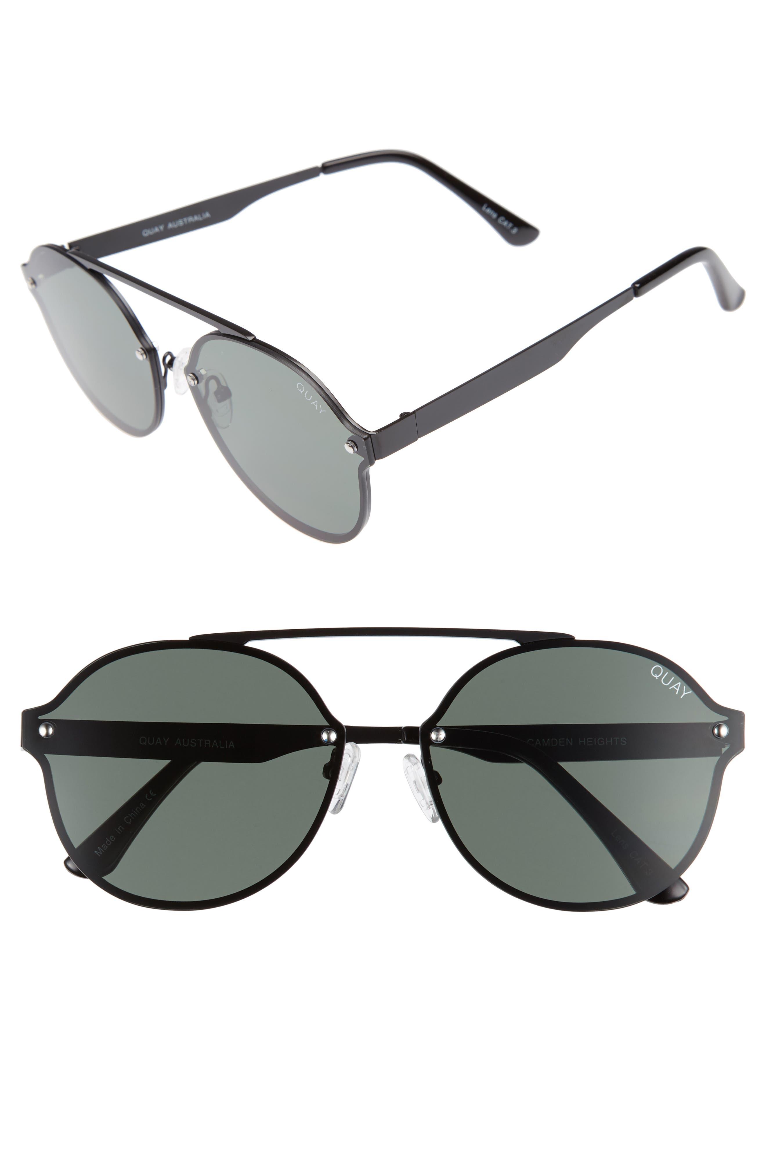 Quay Australia Camden Heights 59mm Aviator Sunglasses