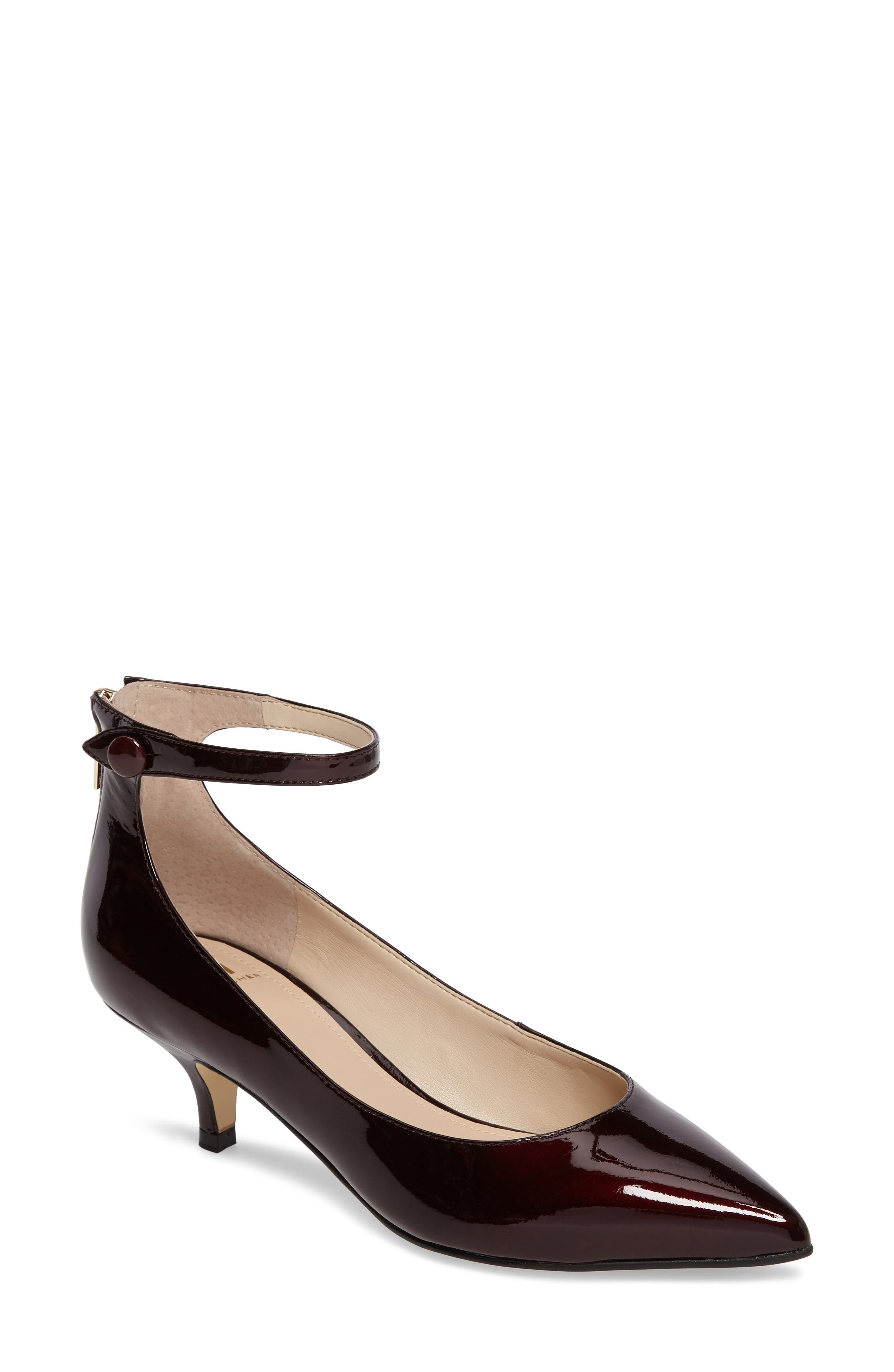 Marc Fisher LTD Vesta Ankle Strap Pump (Women)