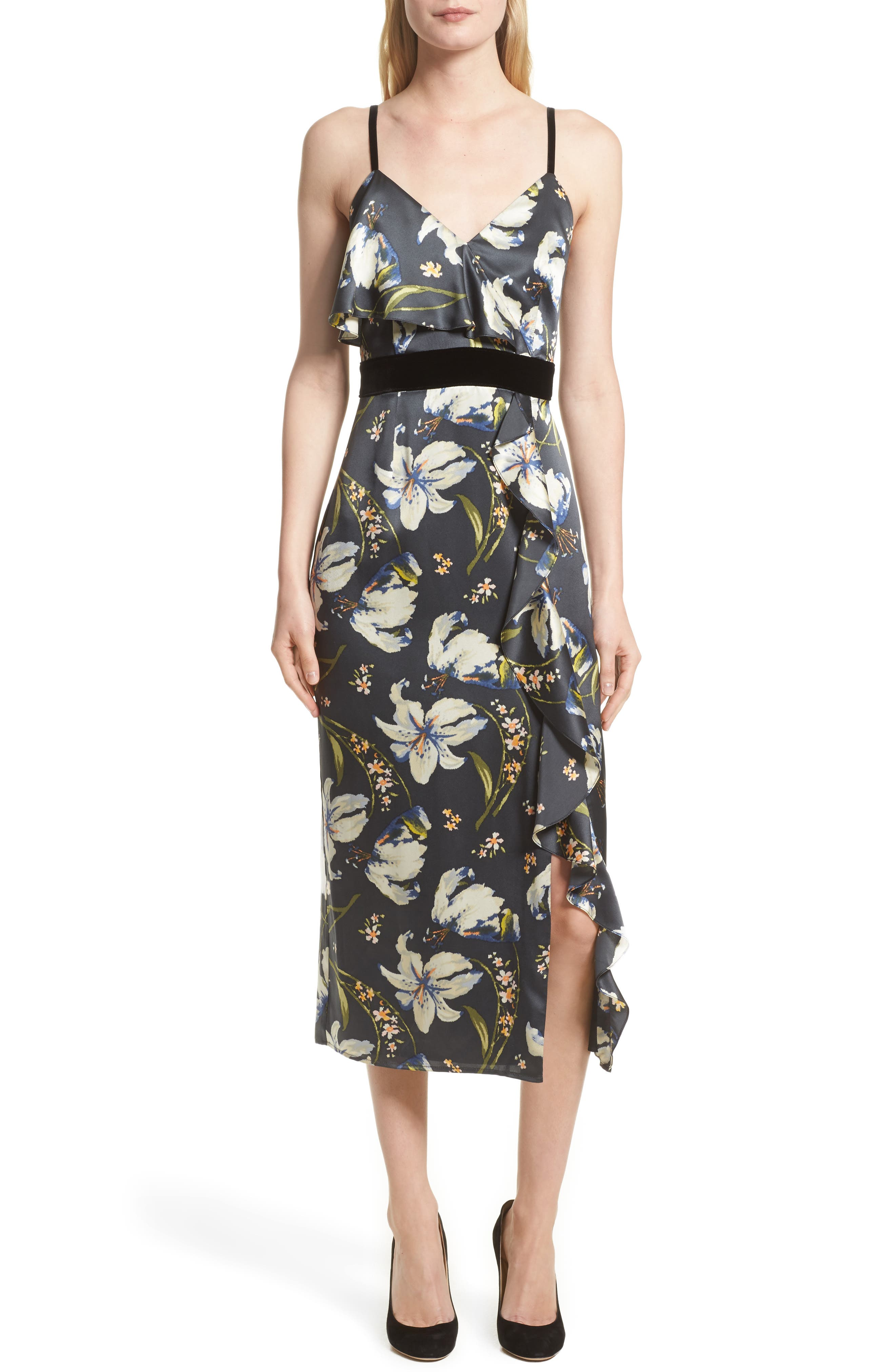 Cinq à Sept Leena Floral Print Dress (Nordstrom Exclusive)