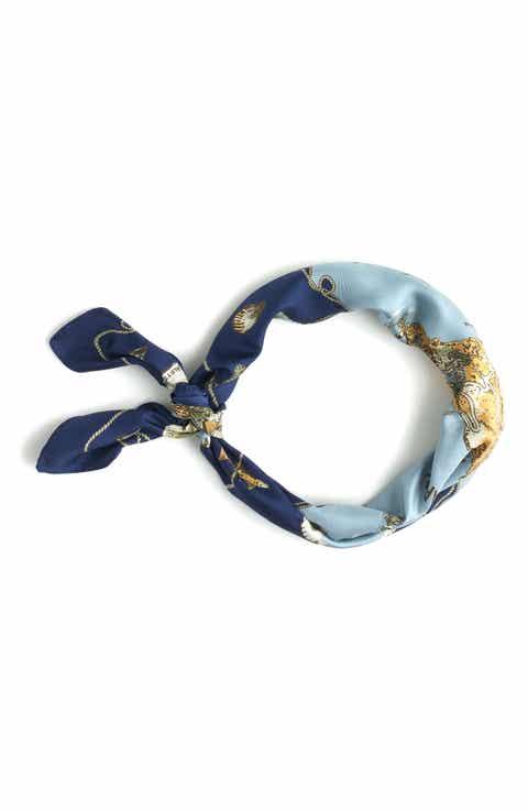 Square scarves for women silk cashmere cotton more for Lacroix jardins 78