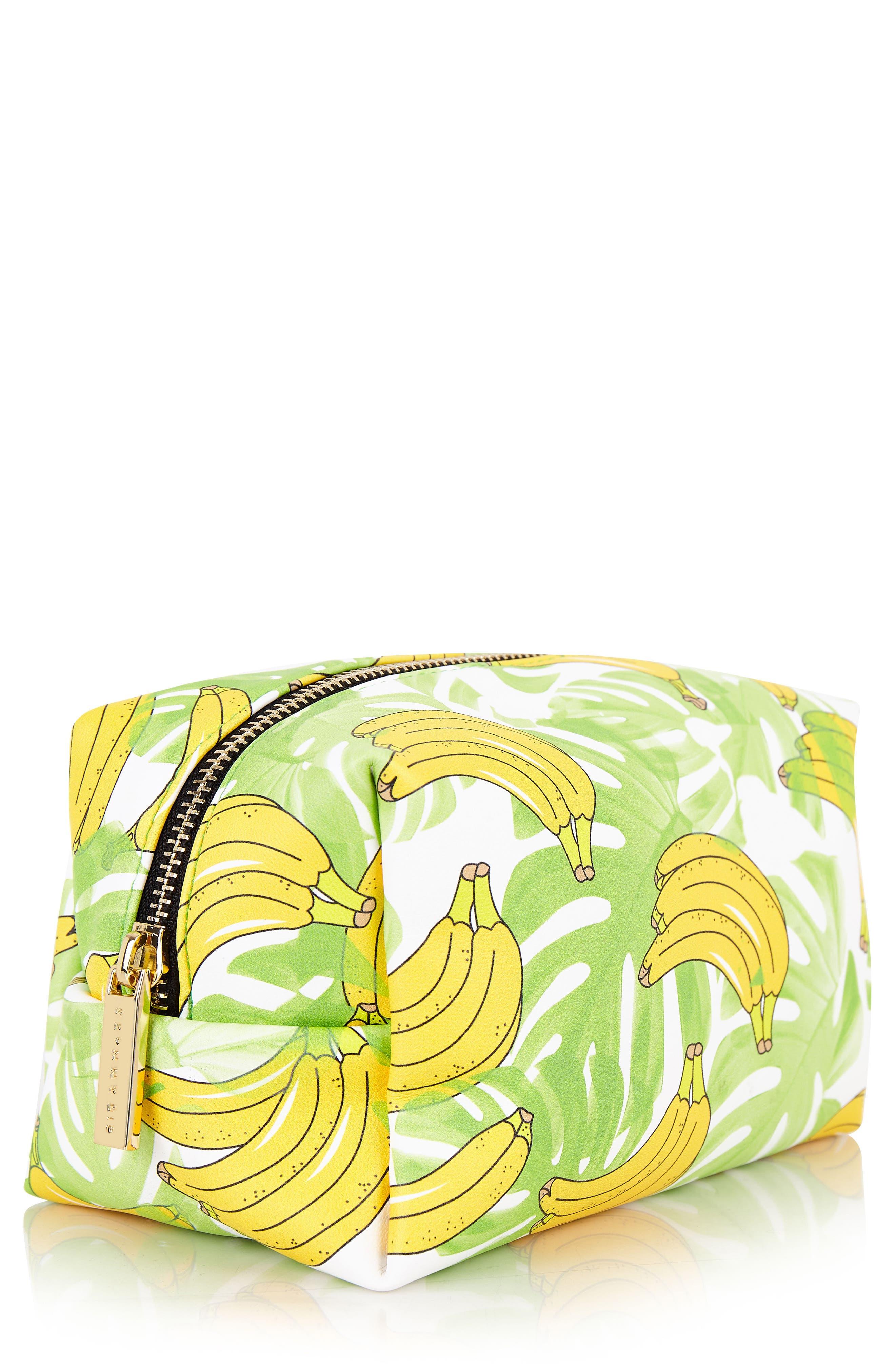 Skinny Dip Banana Makeup Bag