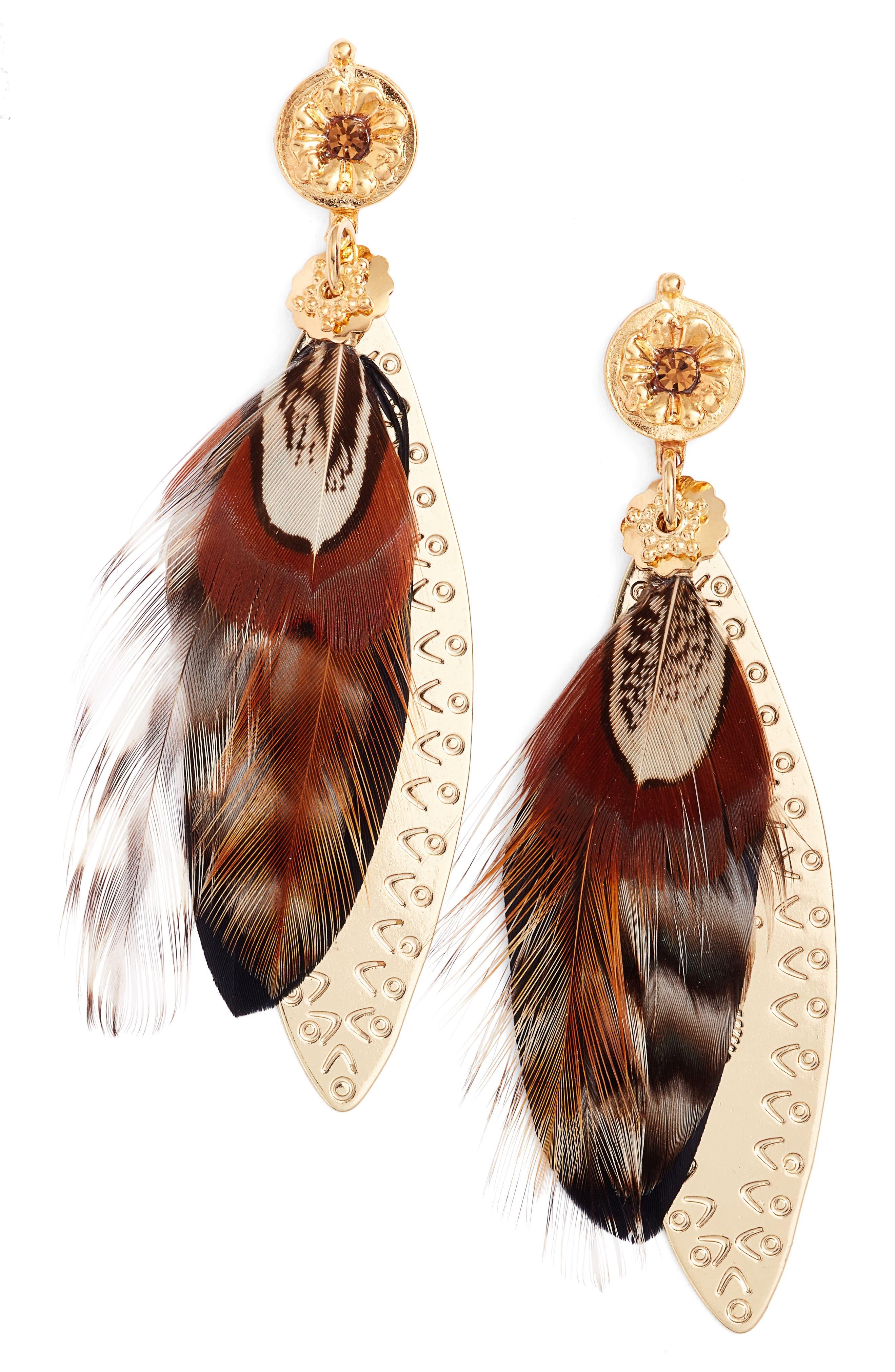 Gas Bijoux Large Sao Drop Earrings