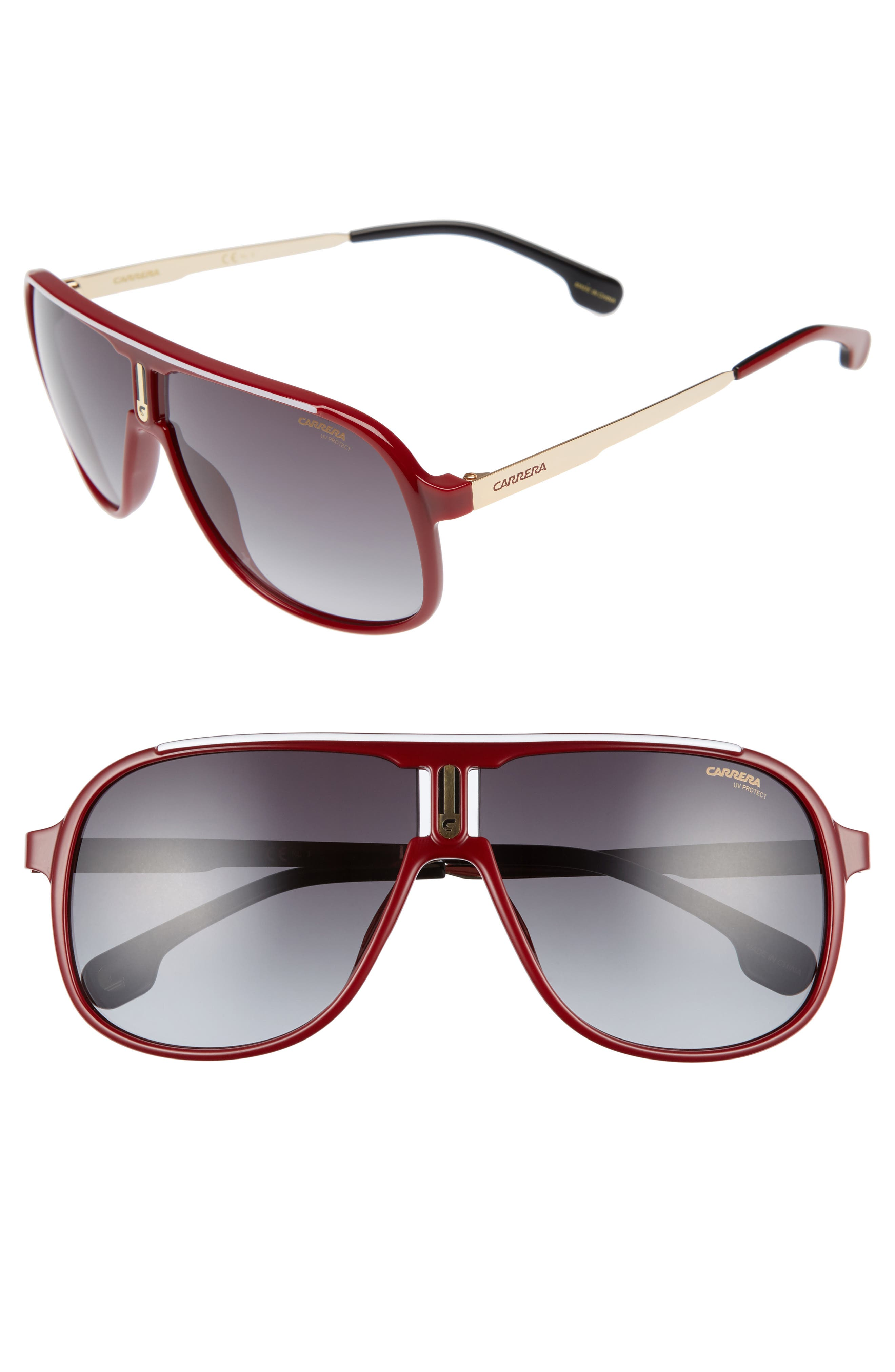 Carrera Eyewear 62mm Sunglasses