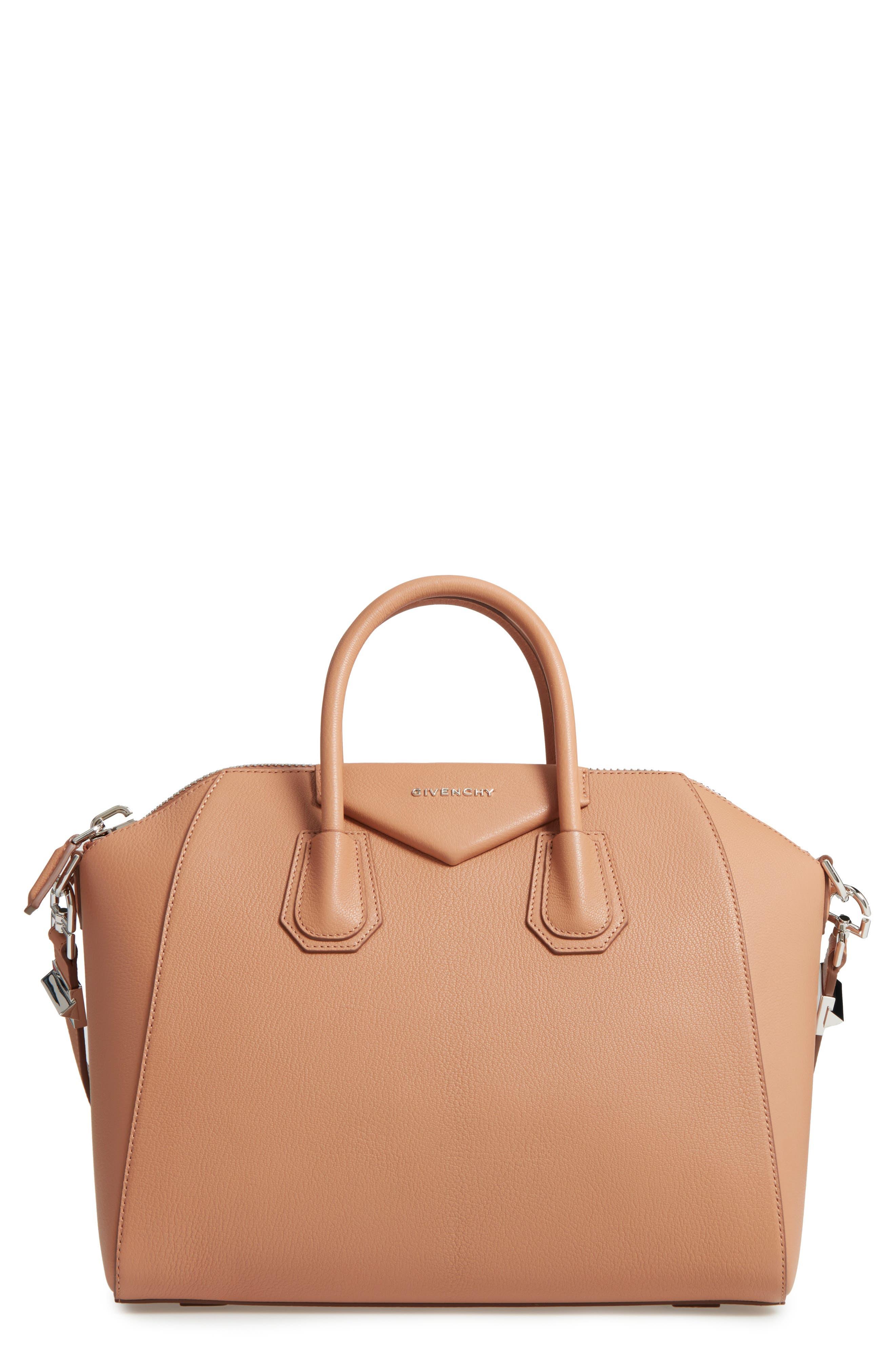 Givenchy 'Medium Antigona' Sugar Leather Satchel