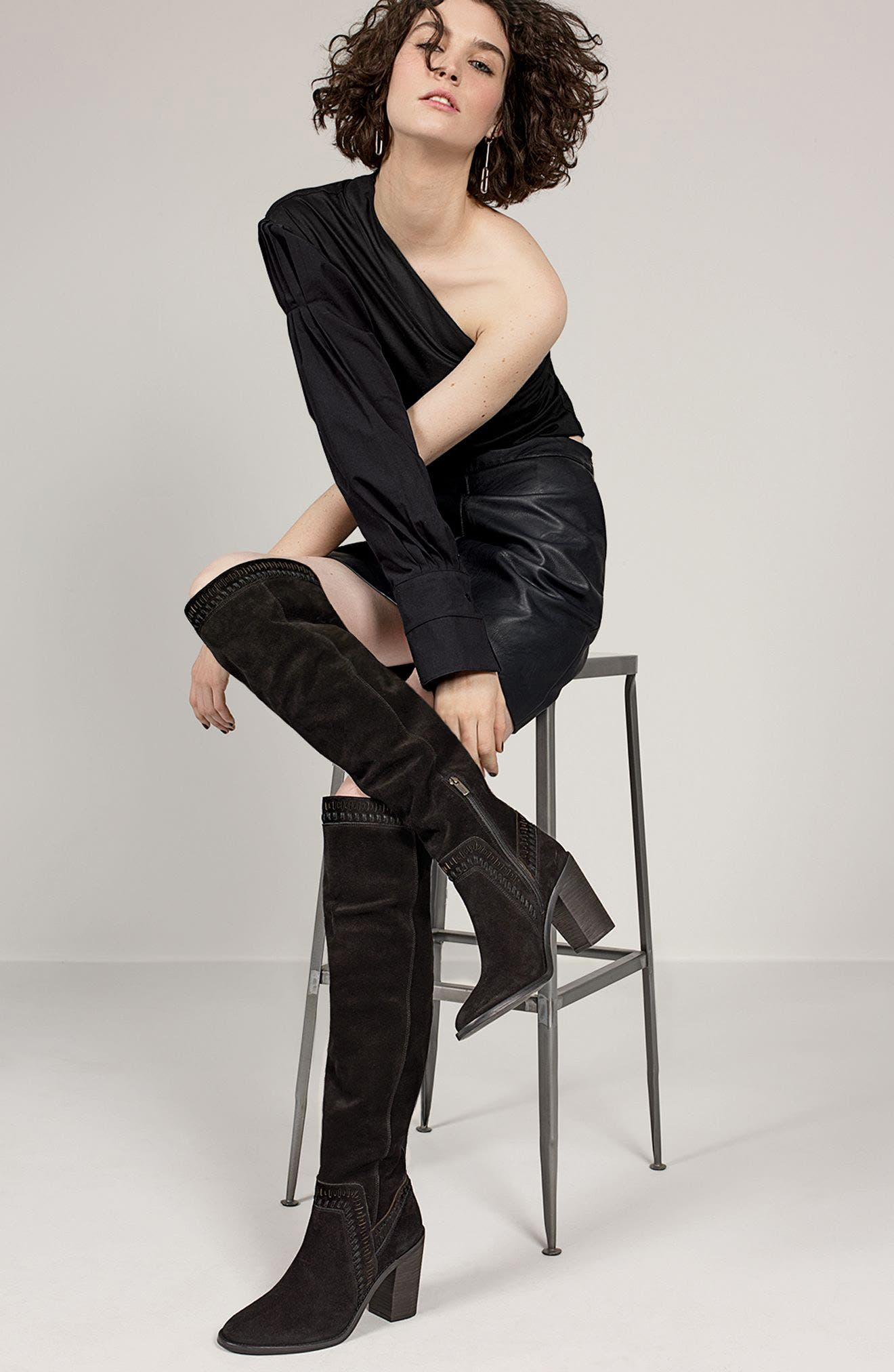 Alternate Image 7  - Vince Camuto Madolee Over the Knee Boot (Women)