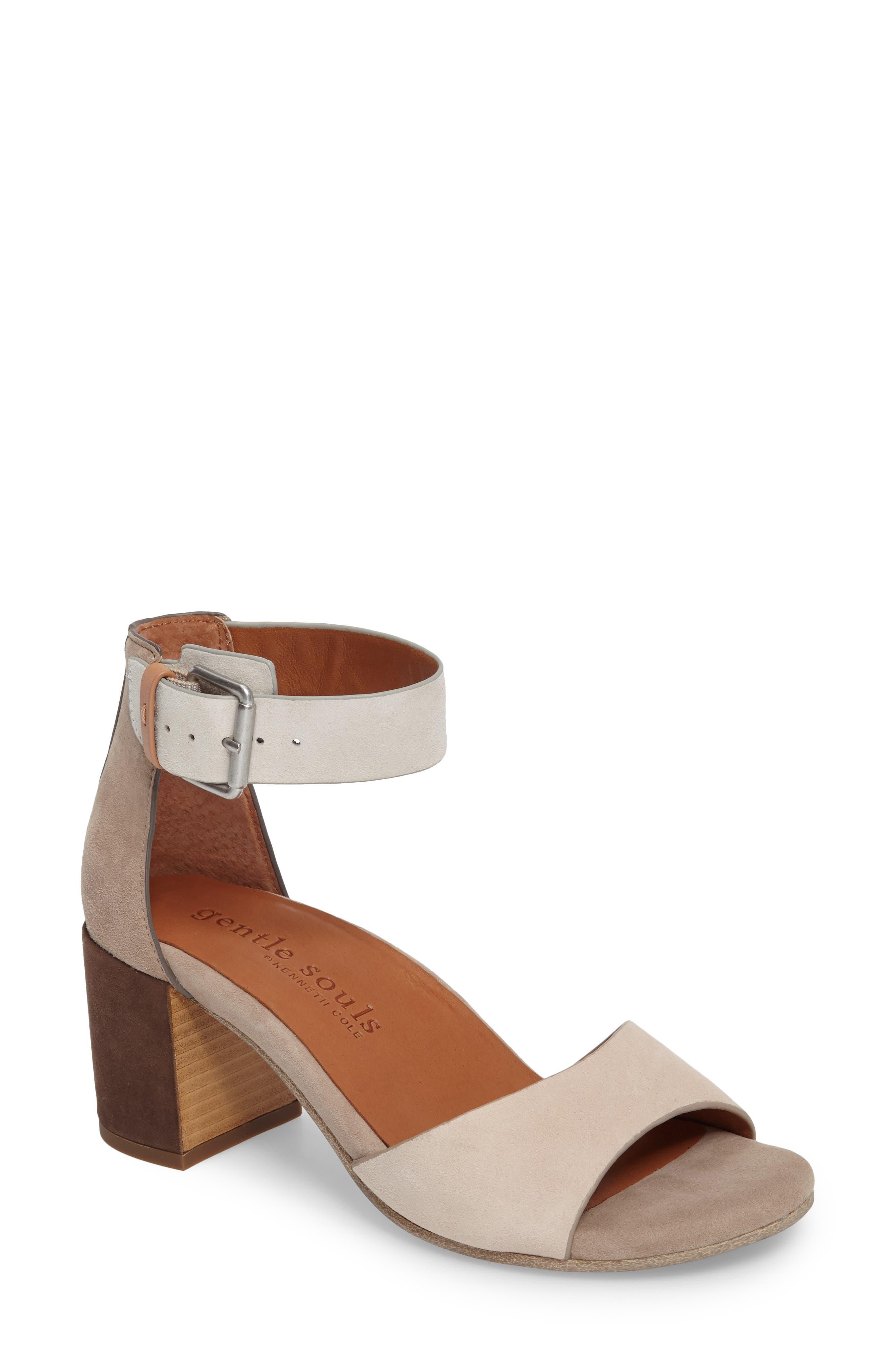 Gentle Souls Christa Block Heel Sandal (Women)