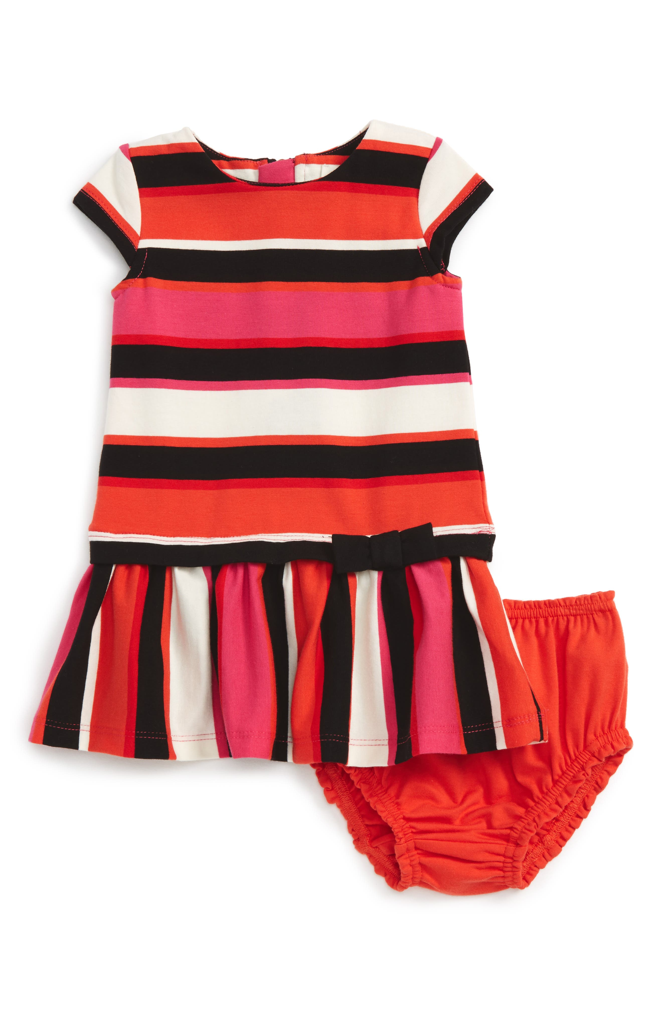kate spade new york stripe drop waist dress (Baby Girls)