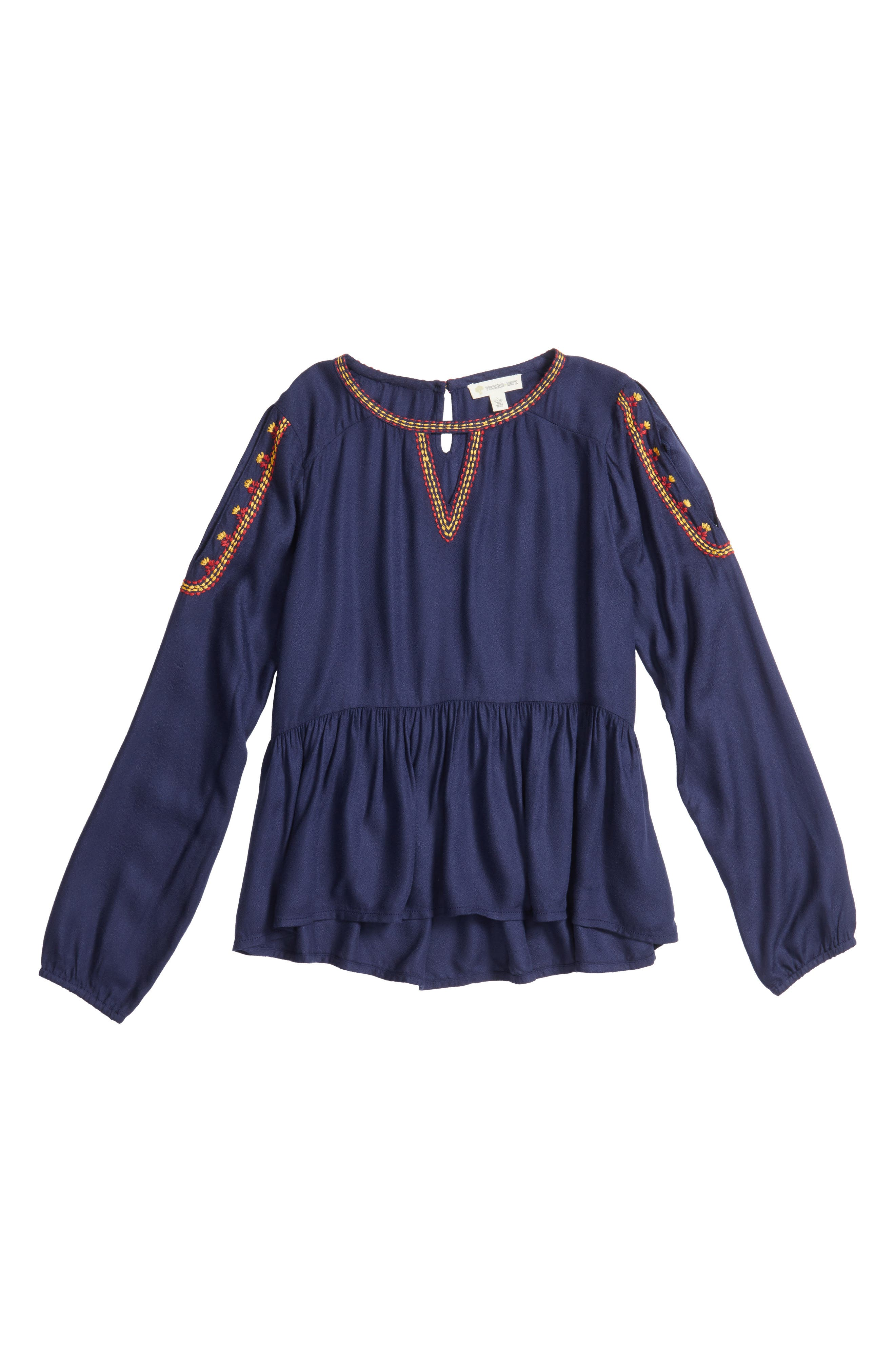 Tucker + Tate Embroidered Top (Big Girls)