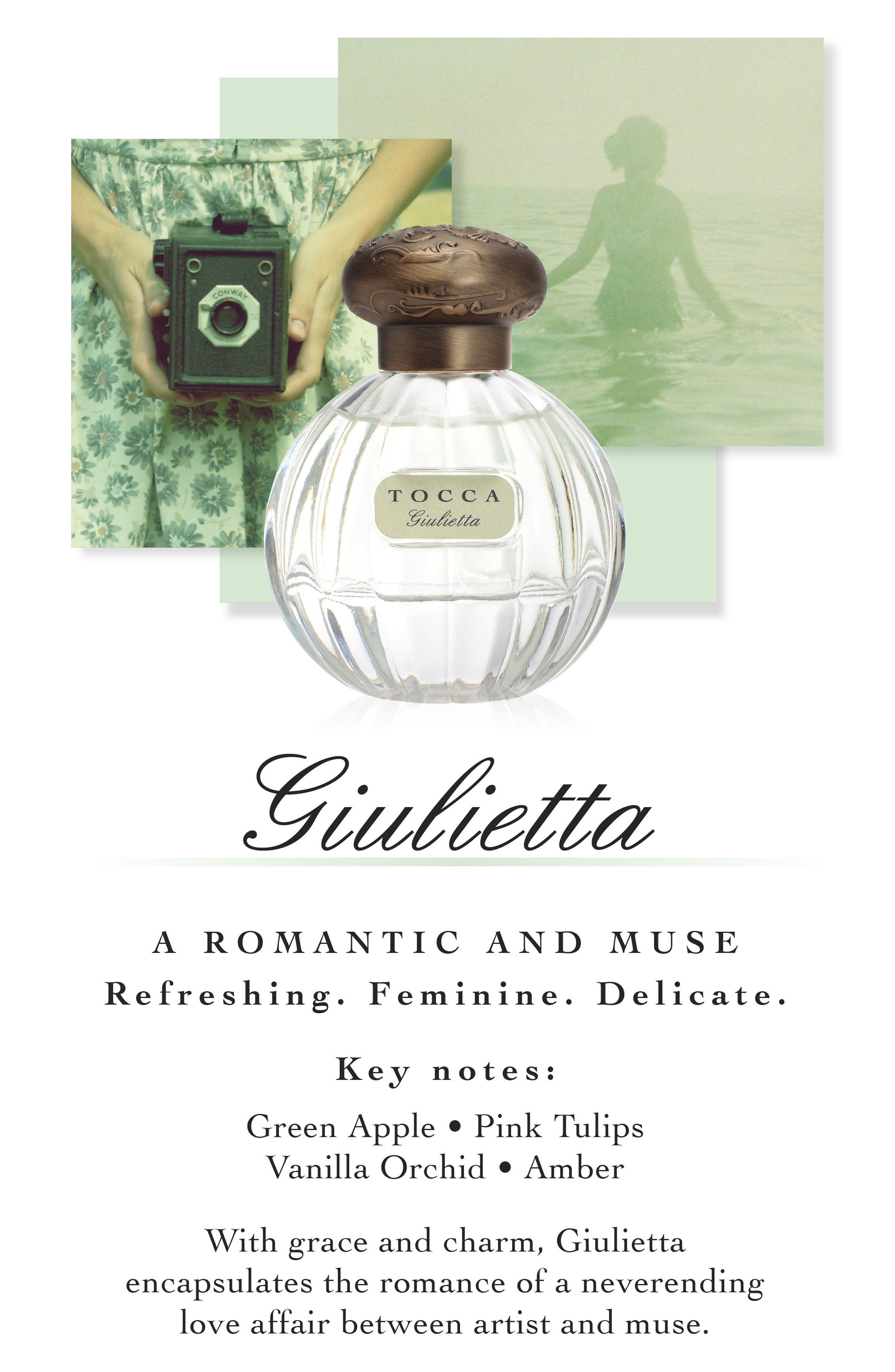 Alternate Image 3  - TOCCA 'Giulietta' Eau de Parfum