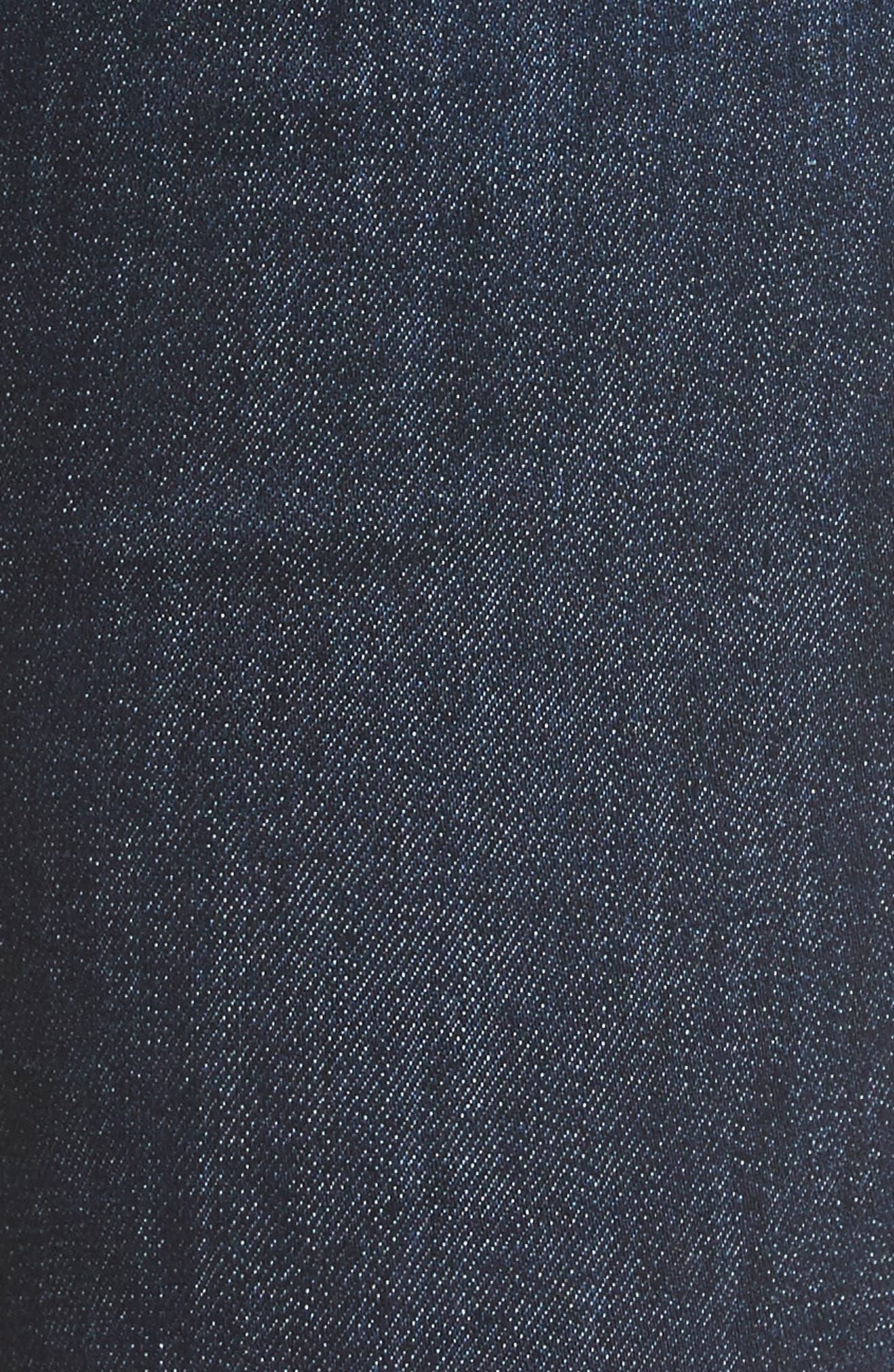 Alternate Image 6  - rag & bone/JEAN High Waist Skinny Ankle Jeans (Mad River)