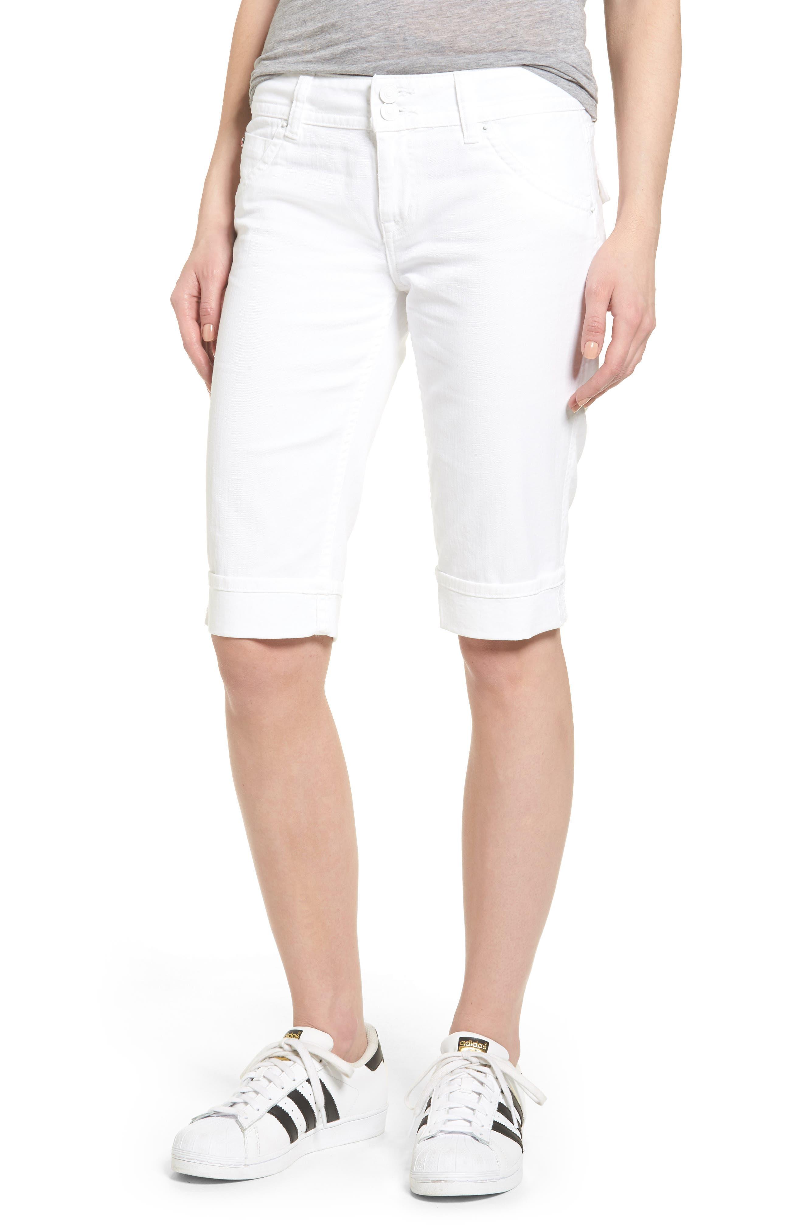 Hudson Jeans 'Palerma' Denim Shorts (White)