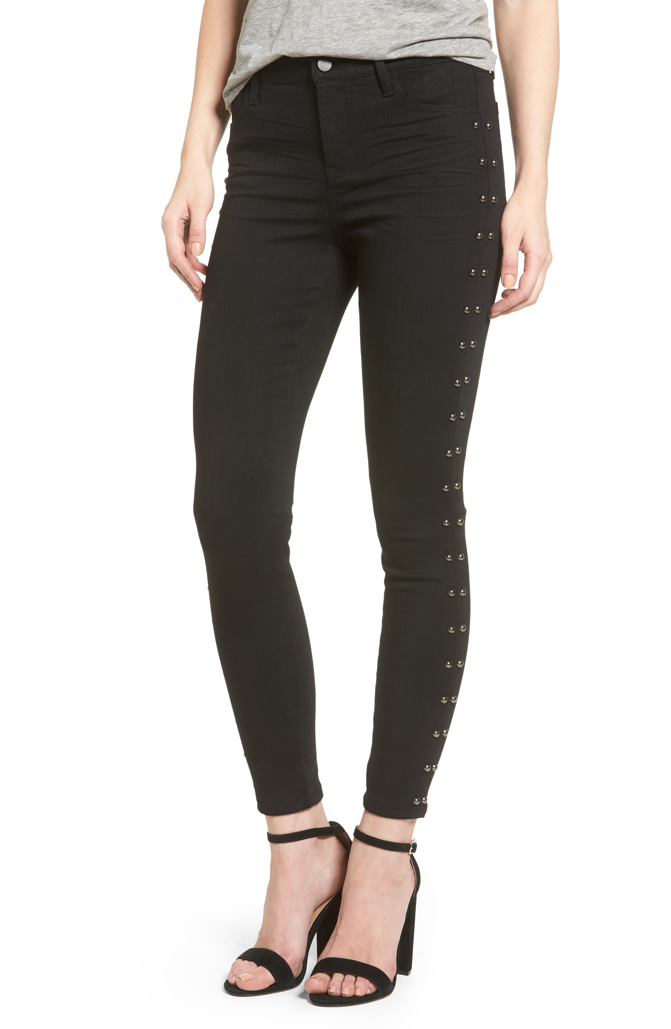 Tinsel Studded Skinny Jeans