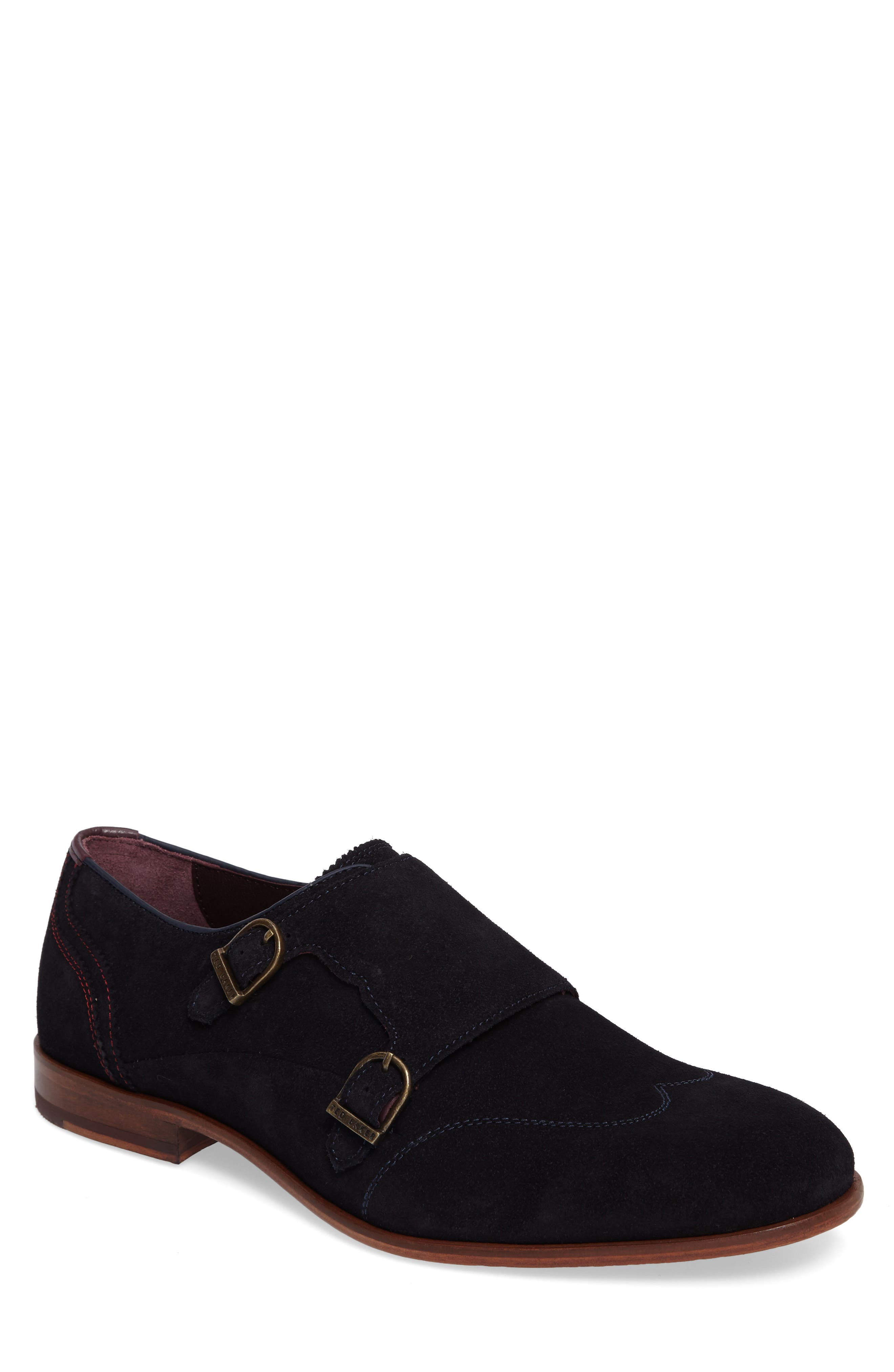 Ted Baker London Rovere Wingtip Monk Shoe (Men)