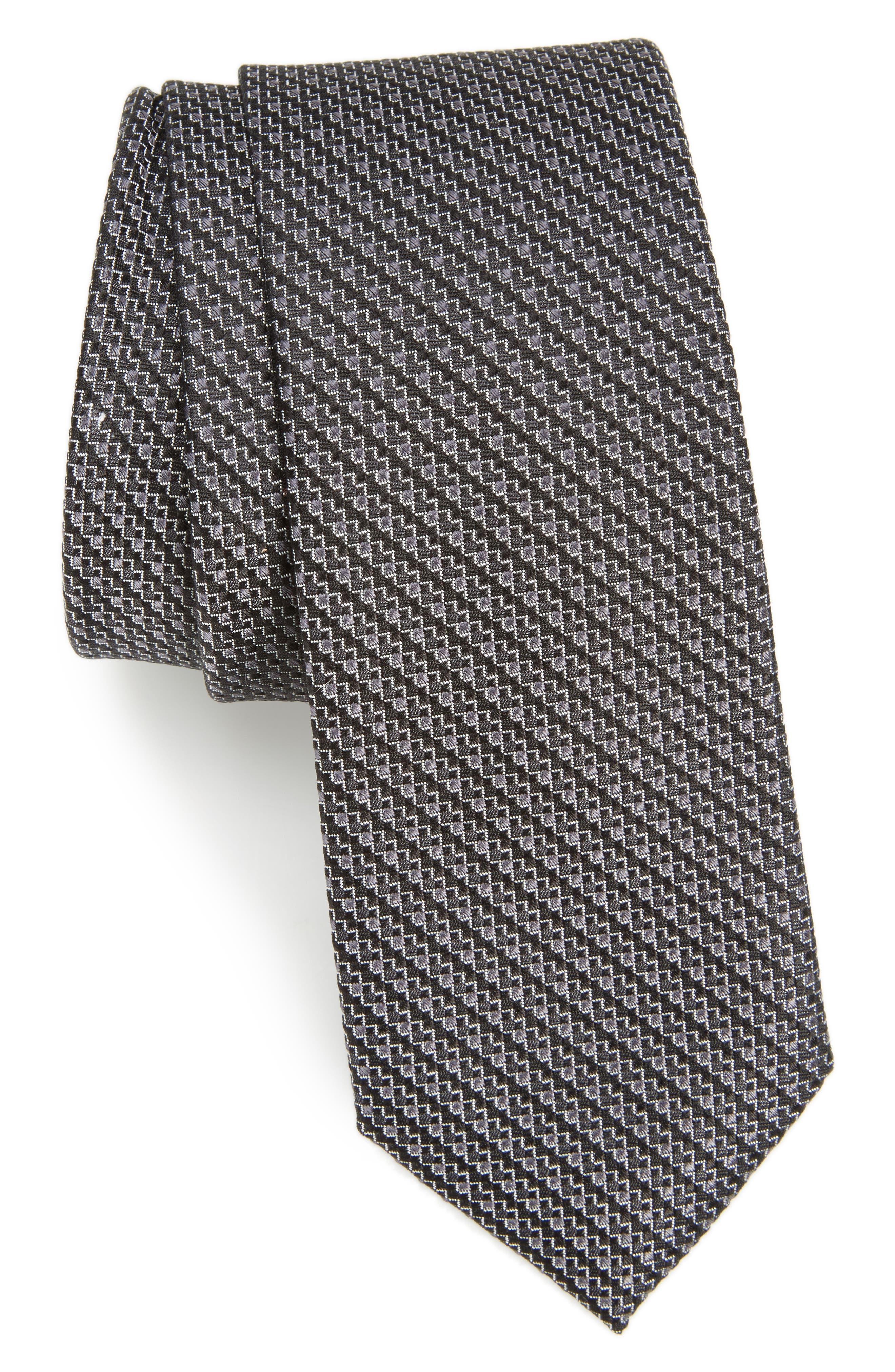 Calibrate Stellar Textured Silk Tie