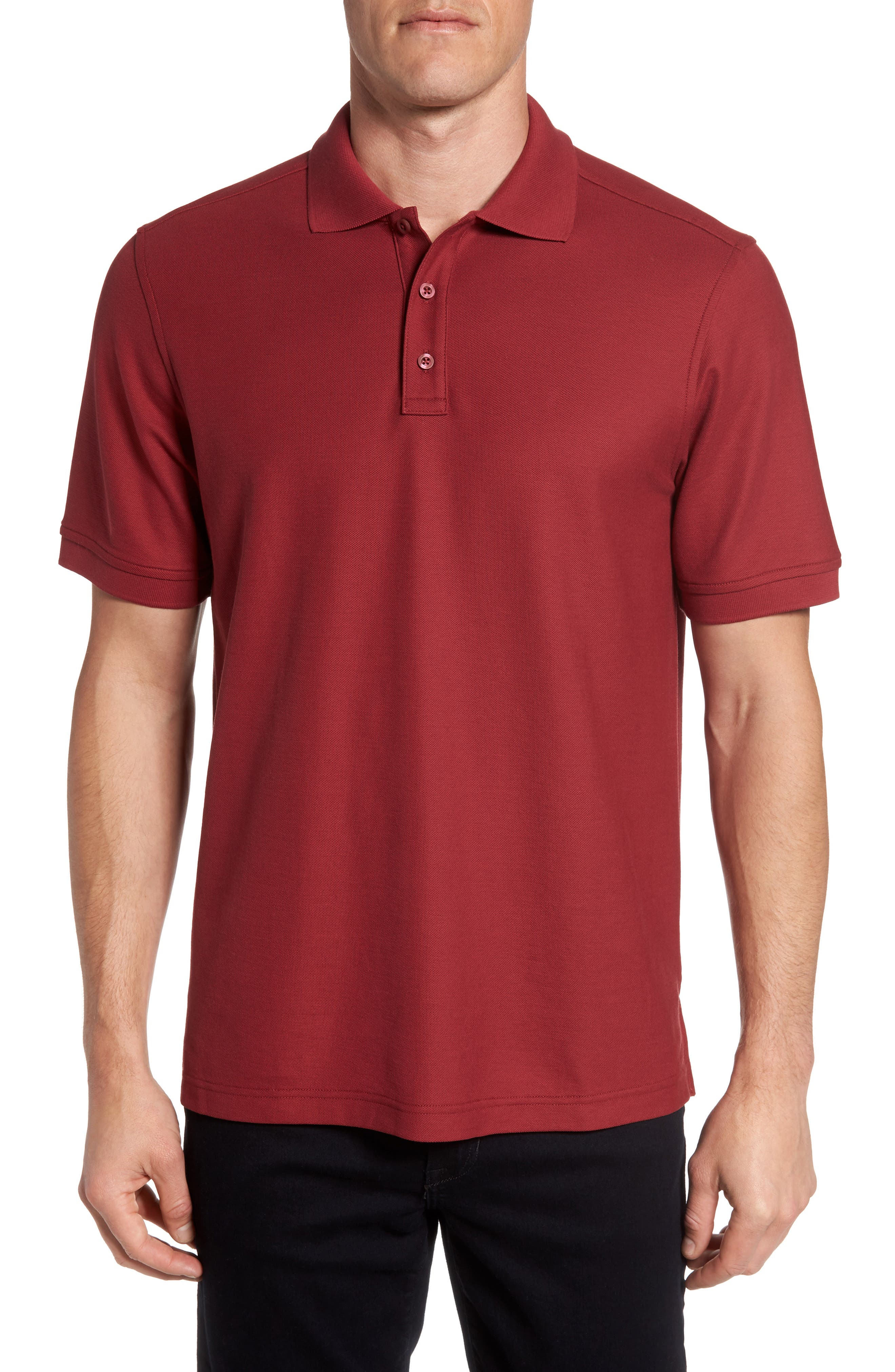Nordstrom Men's Shop Solid Piqué Polo (Tall)