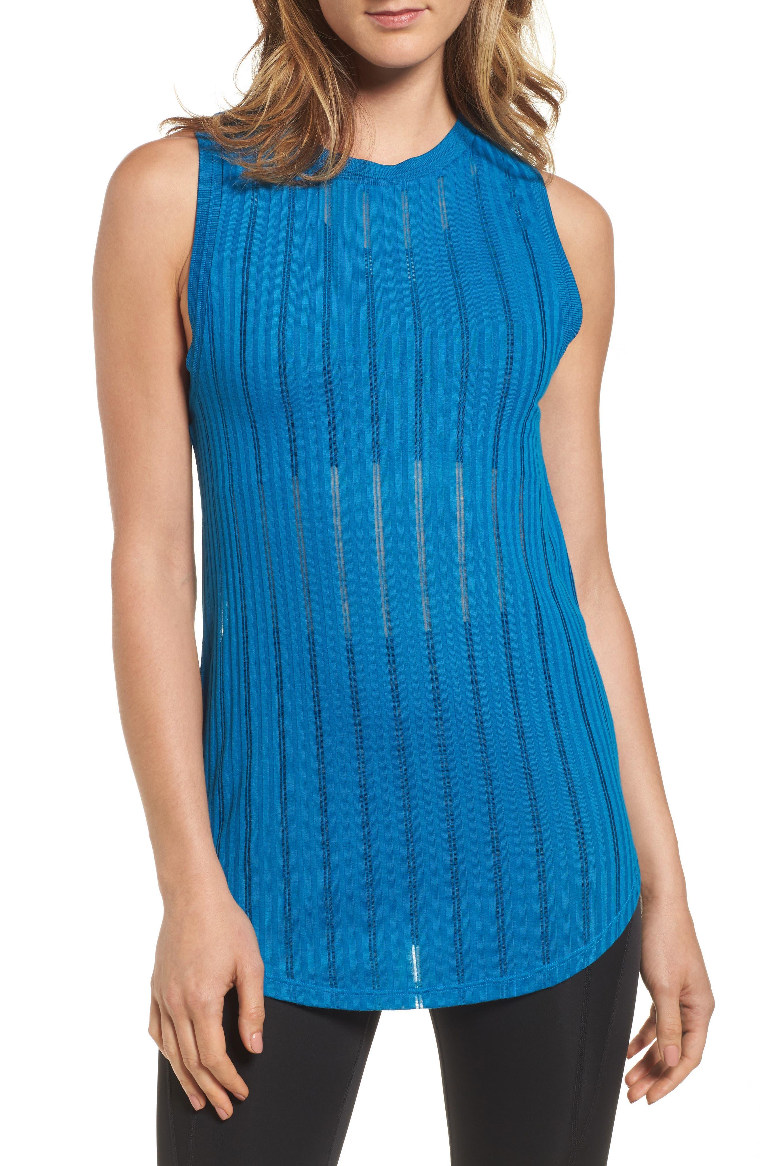 IVY PARK® Drop Needle Knit Tank