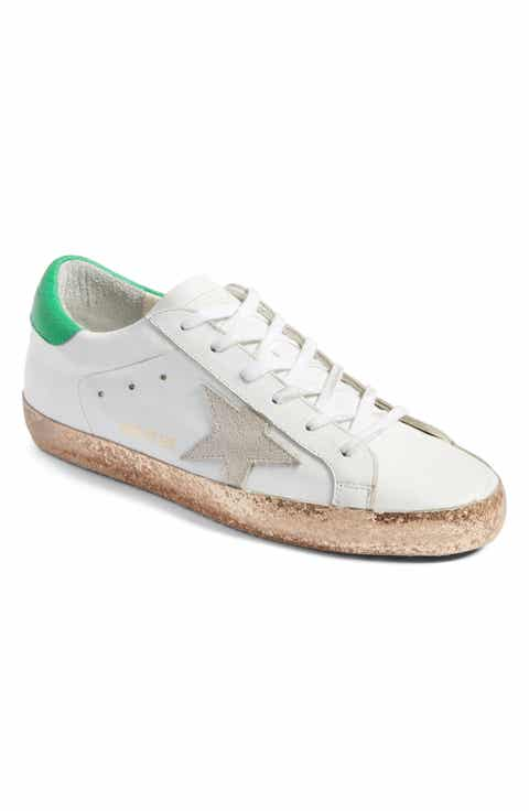 Golden Goose Womens 'may' Sneakers in Brown - Golden Goose Outlet