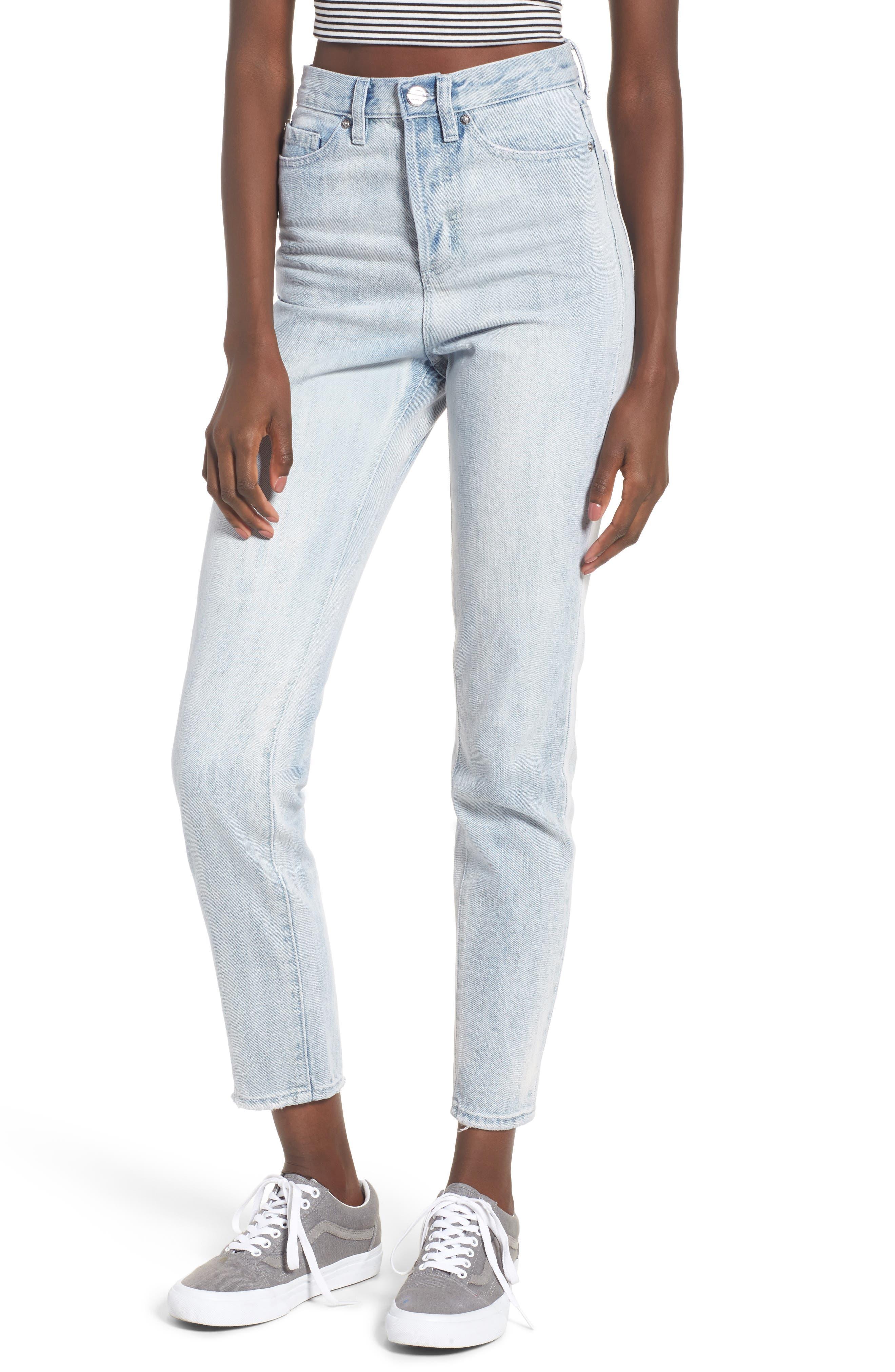 Obey Sundays High Waist Slim Ankle Jeans