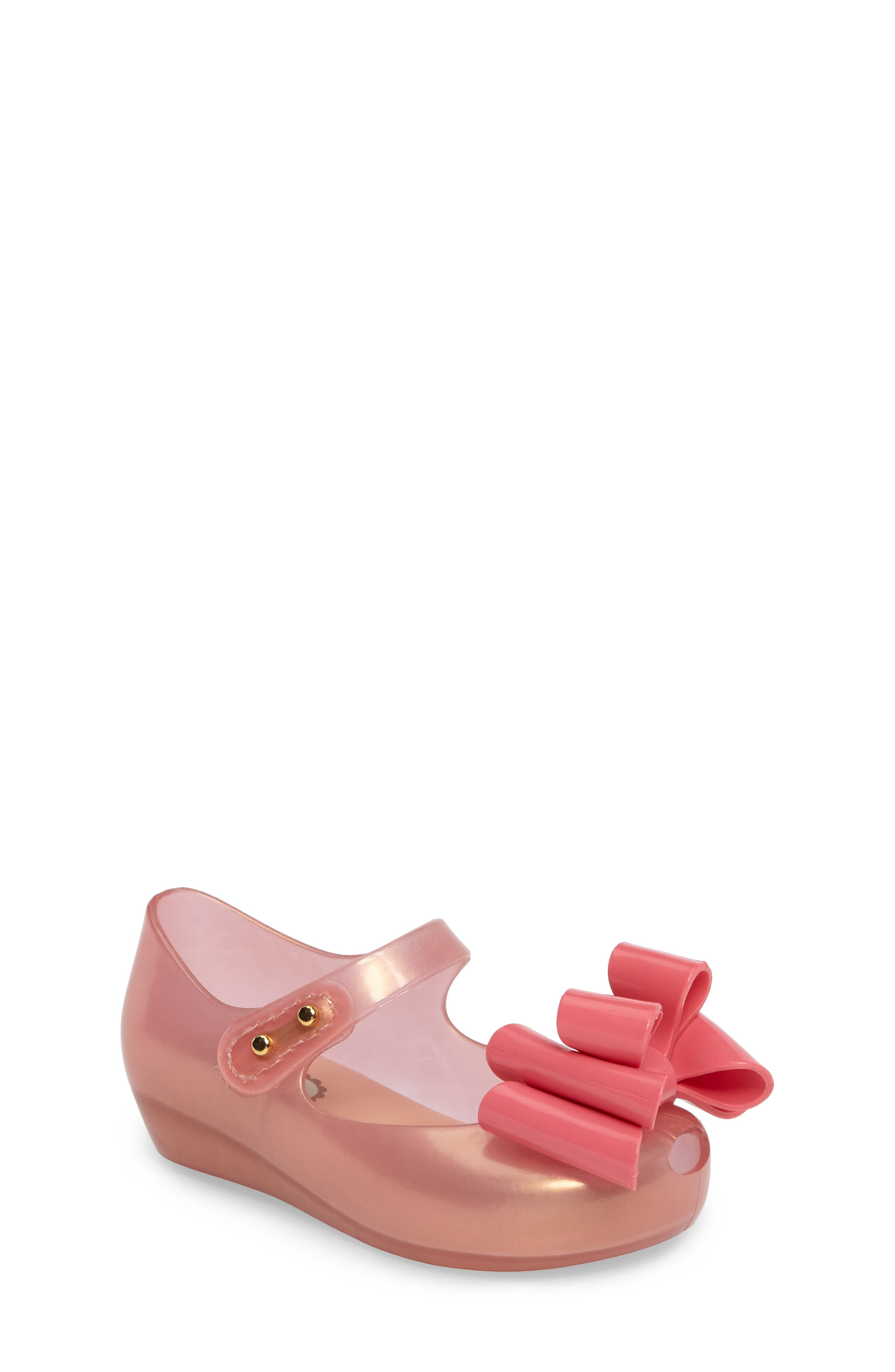 Alternate Image 1 Selected - Mini Melissa Ultragirl Sweet III Mary Jane Flat (Walker & Toddler)