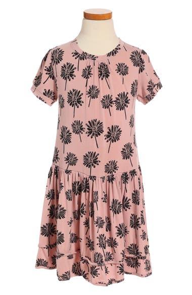 Peek Sam Floral Print Dress (Toddler Girls, Little Girls & Big Girls)