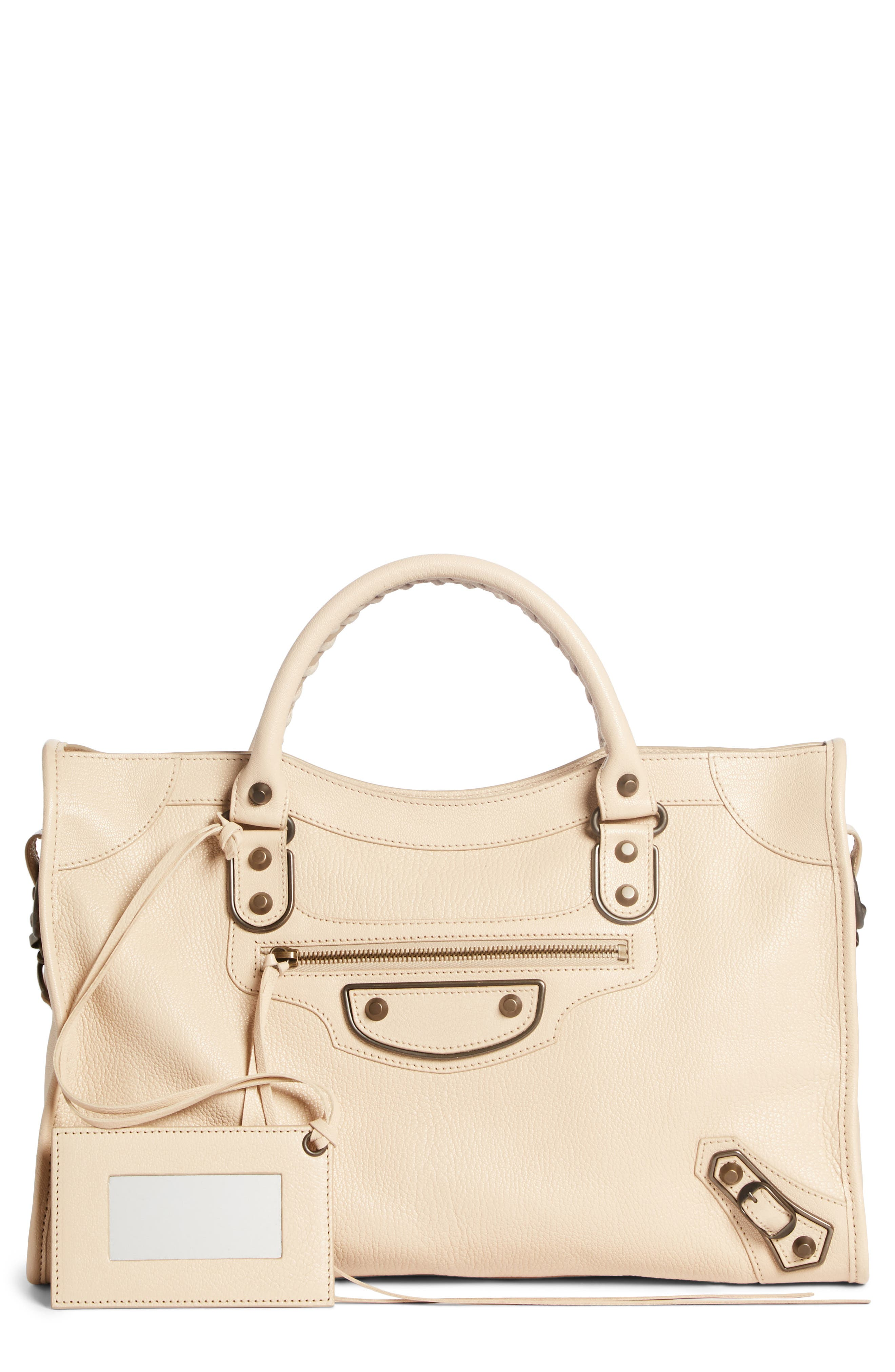 Balenciaga Classic Metallic Edge City Leather Tote