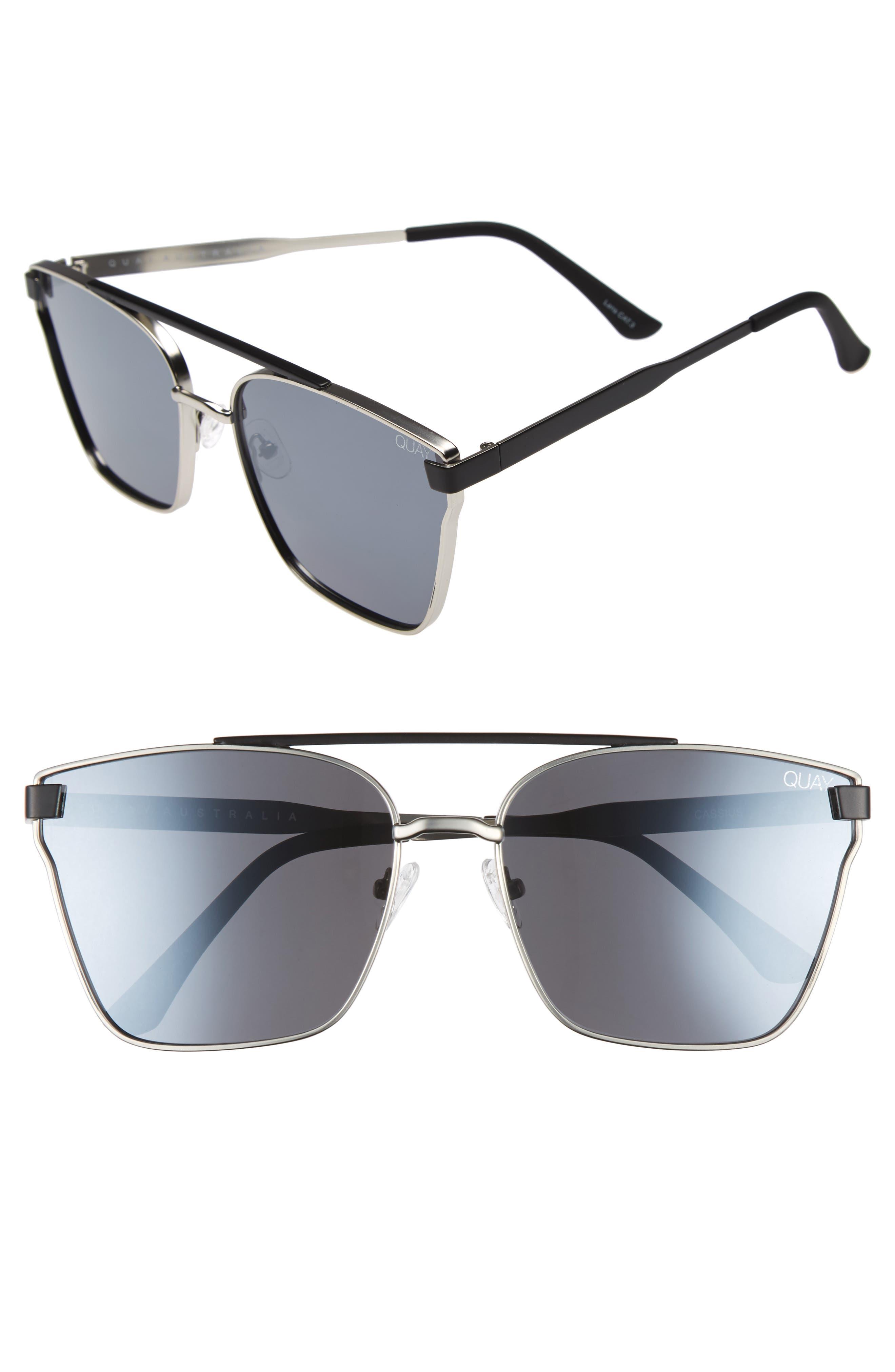 Quay Australia Cassius 64mm Navigator Sunglasses